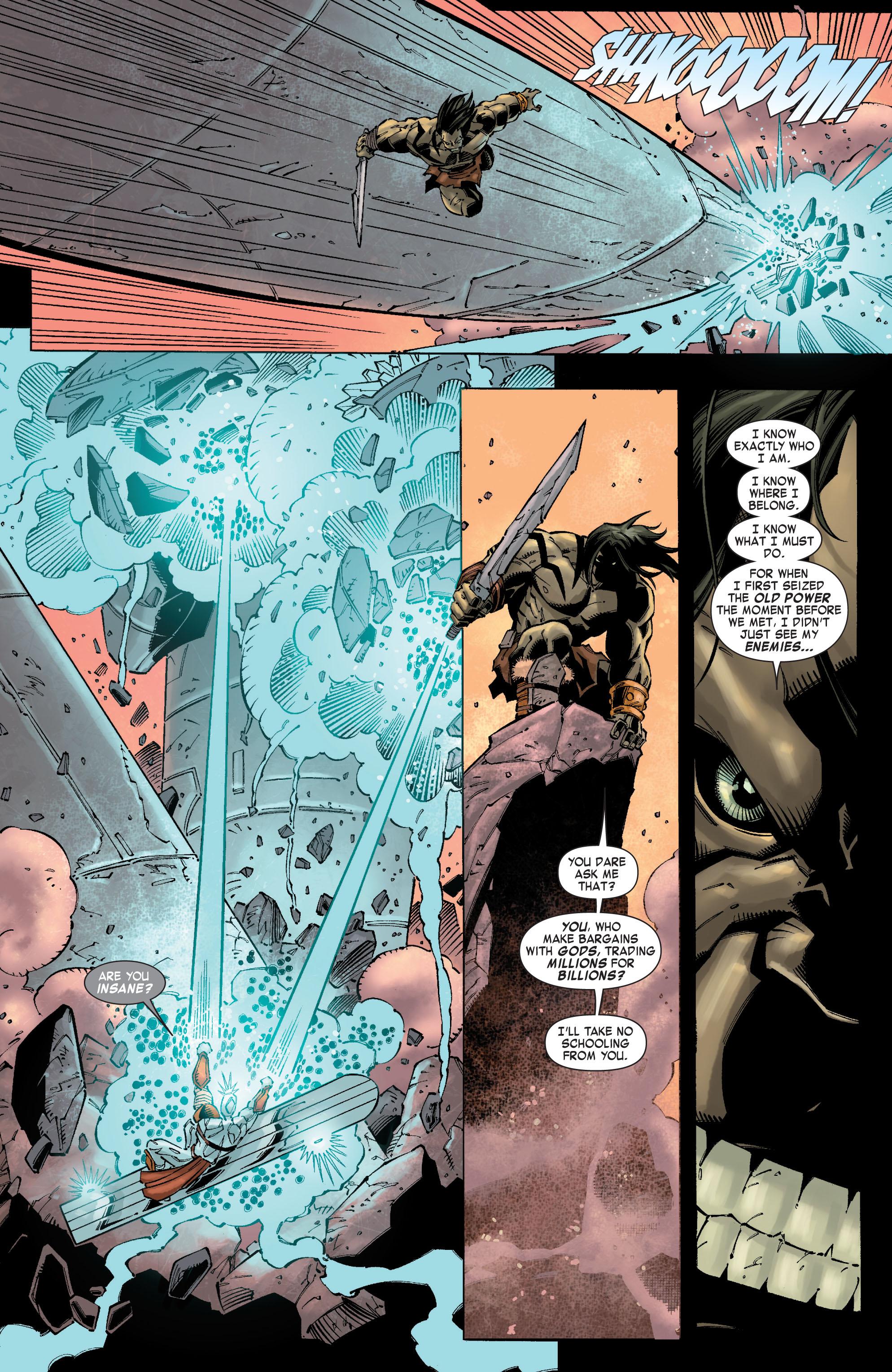 Read online Skaar: Son of Hulk comic -  Issue #10 - 17