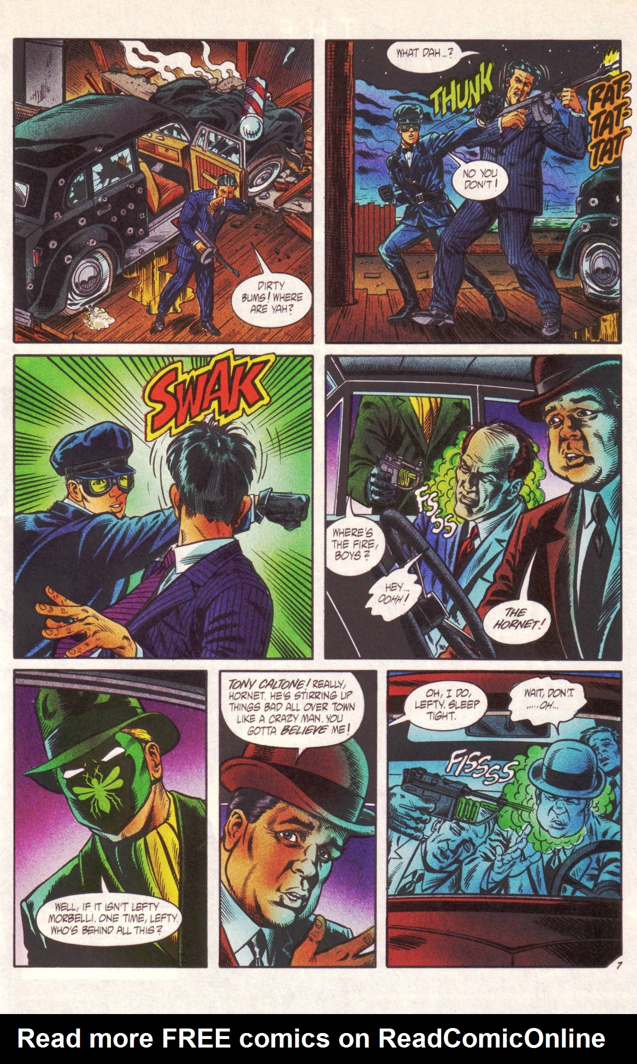 Read online Sting of The Green Hornet comic -  Issue #1 - 8