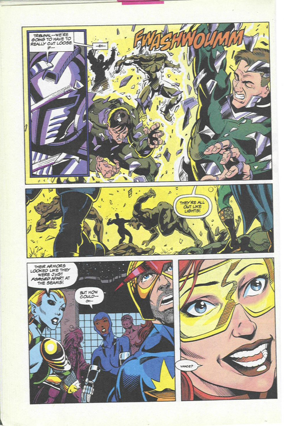 The New Warriors Issue #45 #49 - English 17