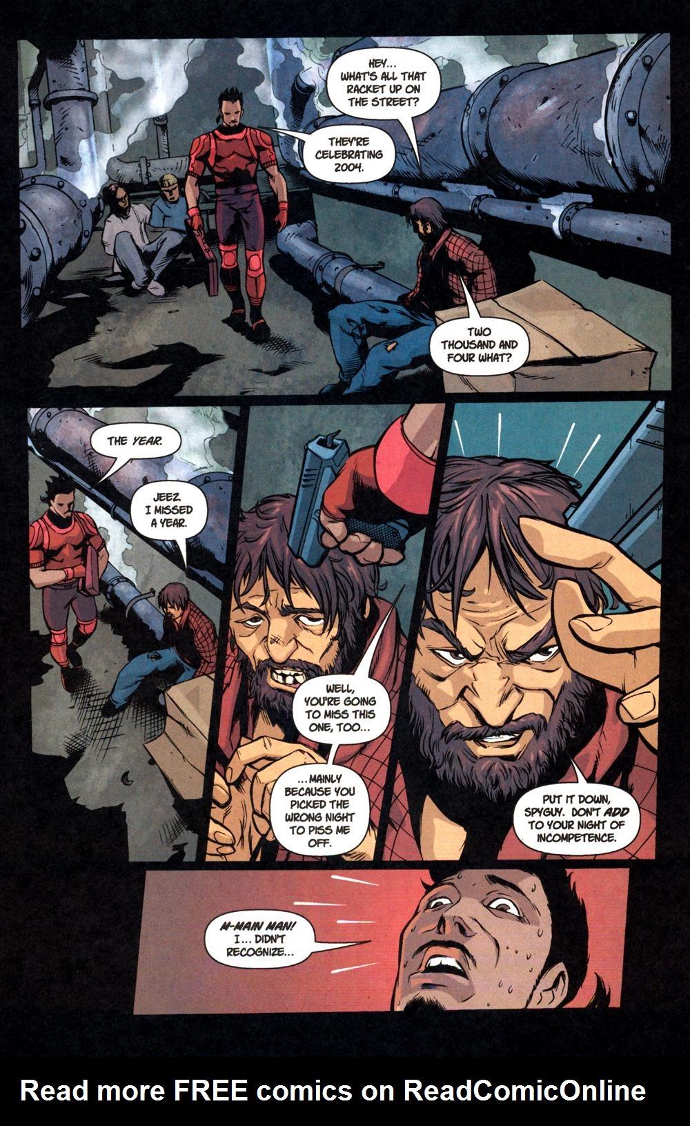 Read online SpyBoy: Final Exam comic -  Issue #1 - 14