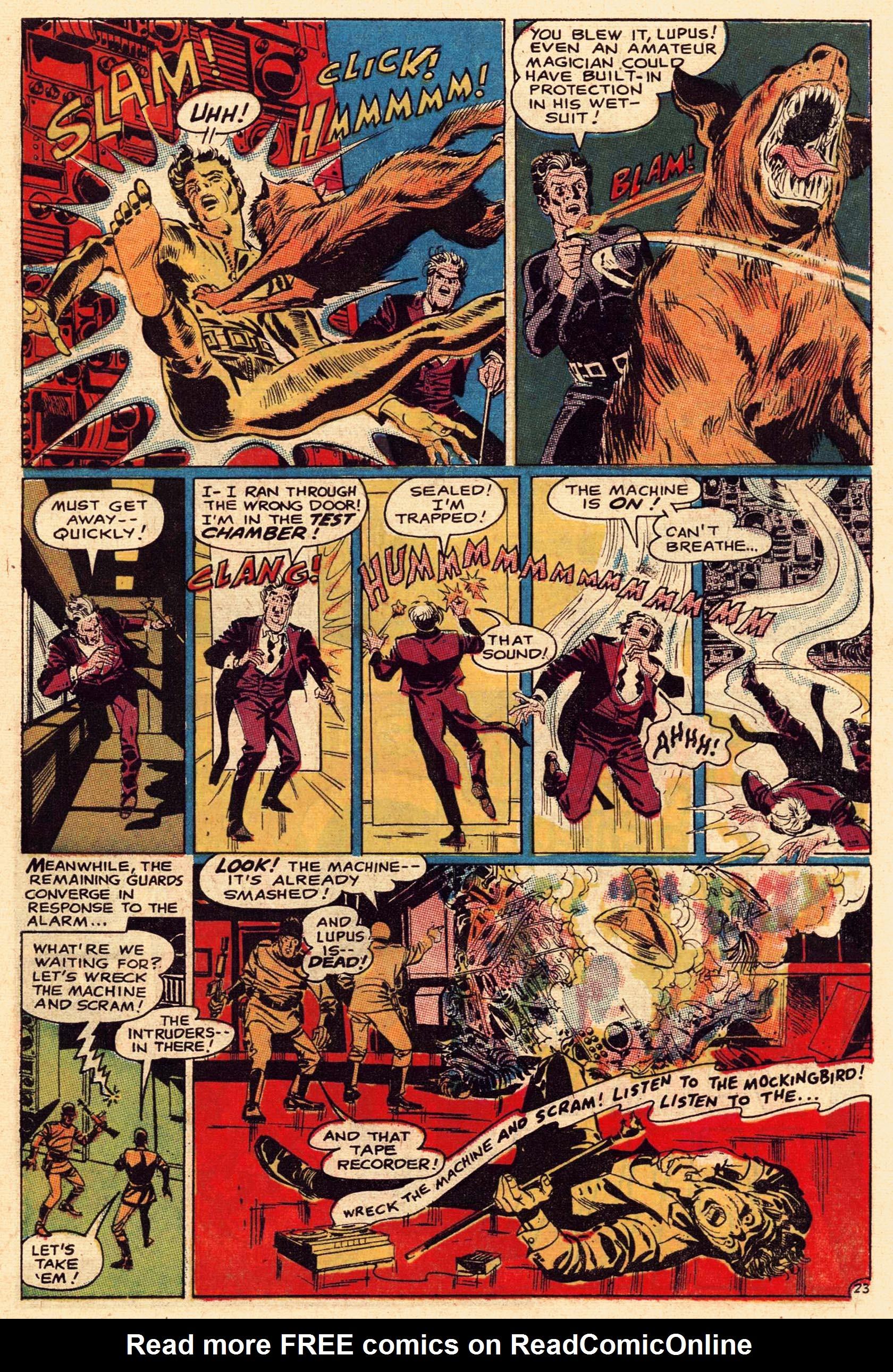 Read online Secret Six (1968) comic -  Issue #1 - 31