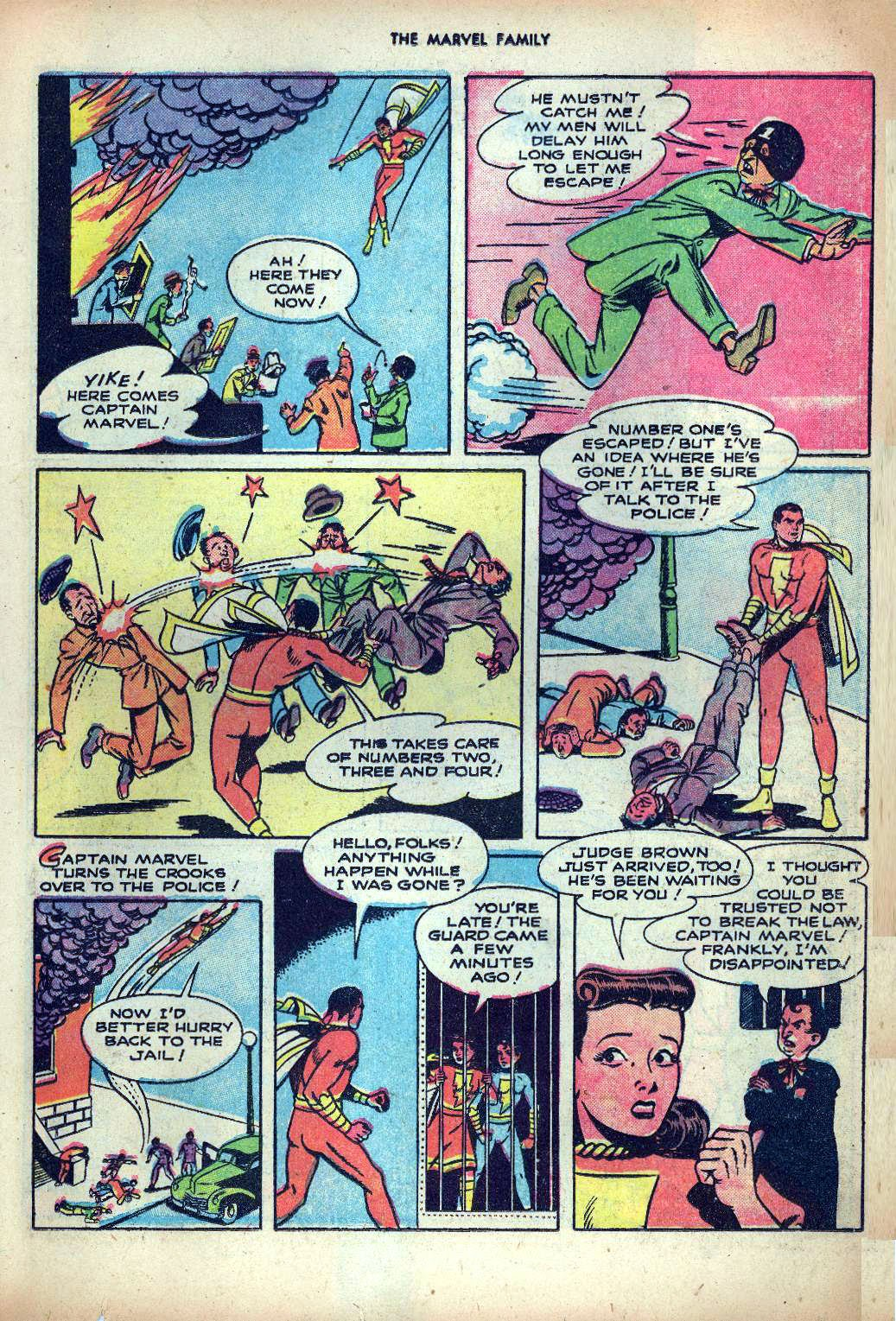 The Marvel Family issue 25 - Page 11
