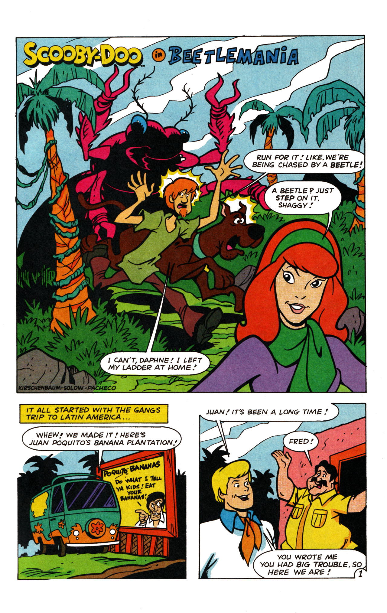Read online Scooby-Doo (1995) comic -  Issue #13 - 26