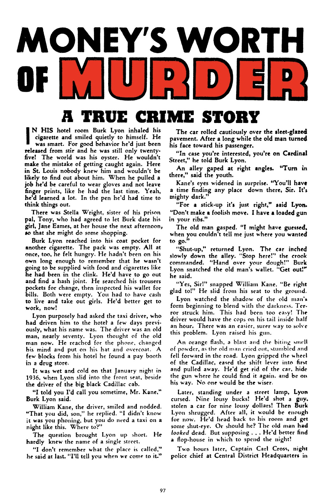 Read online Crime Does Not Pay Archives comic -  Issue # TPB 9 (Part 1) - 99