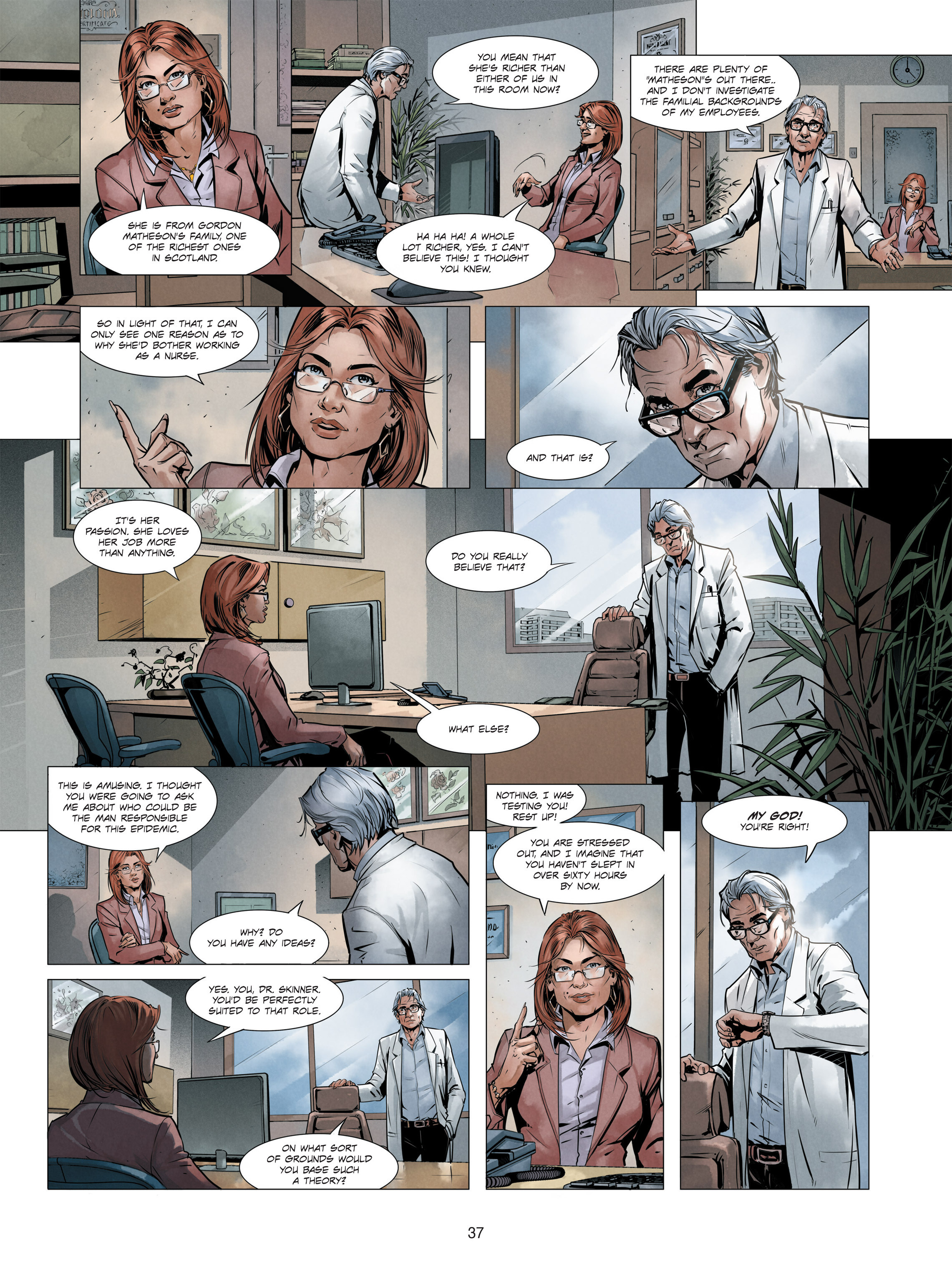 Read online Alice Matheson comic -  Issue #3 - 37
