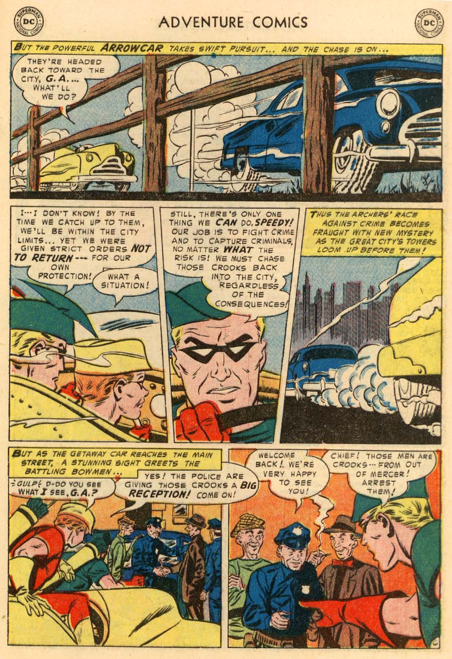 Read online Adventure Comics (1938) comic -  Issue #195 - 39