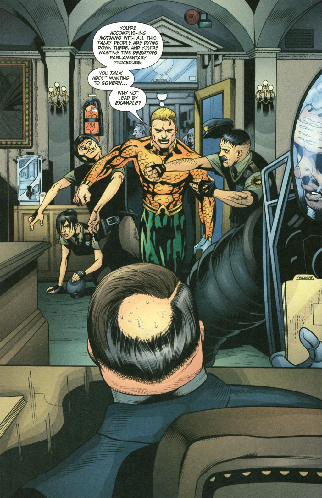 Read online Aquaman (2003) comic -  Issue #21 - 11