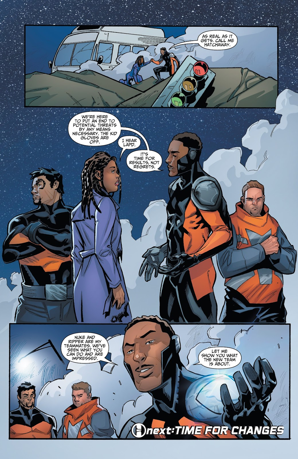 Read online Incidentals comic -  Issue #15 - 25