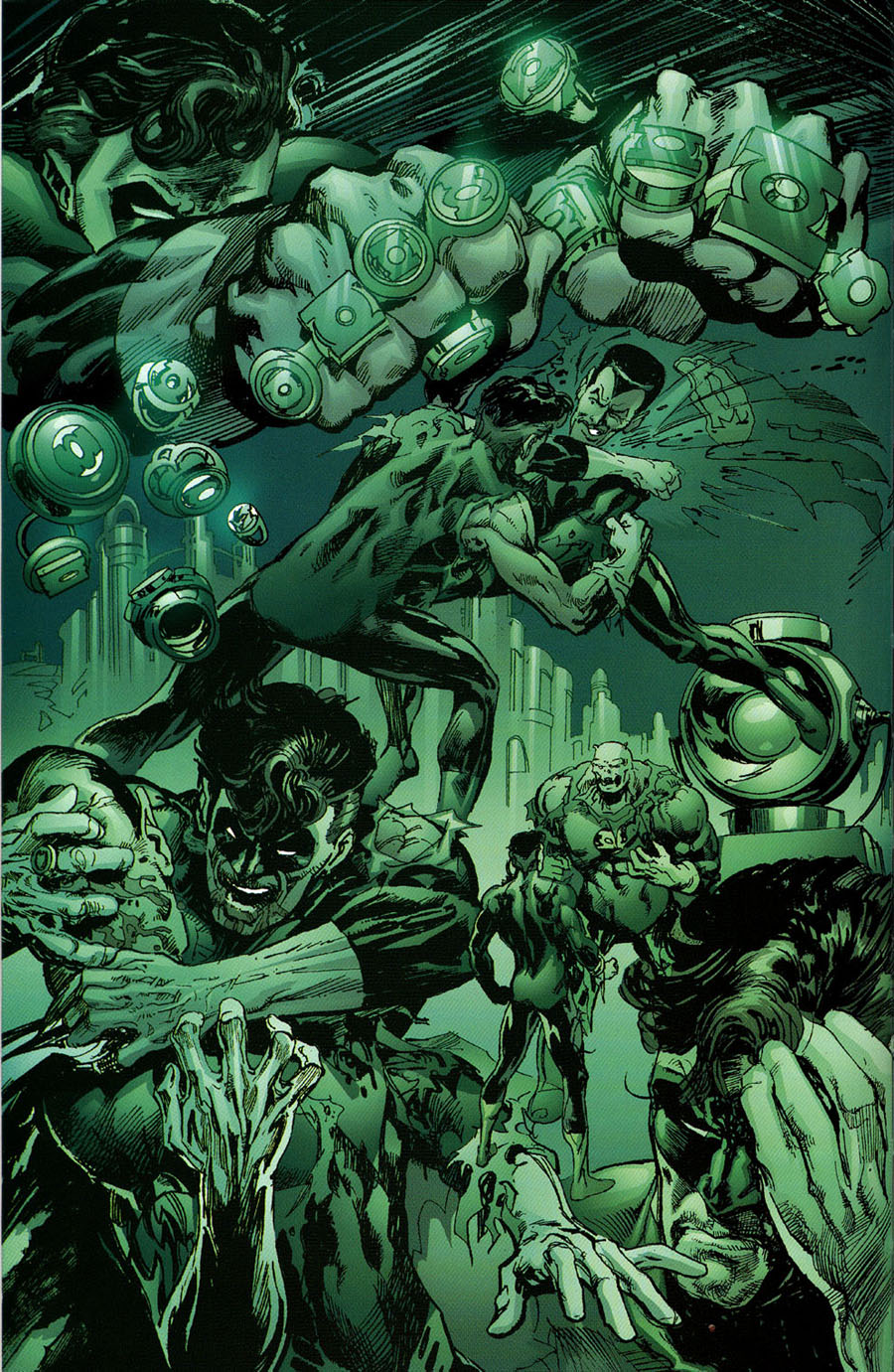 Read online Green Lantern: Legacy: The Last Will and Testament of Hal Jordan comic -  Issue # TPB - 63