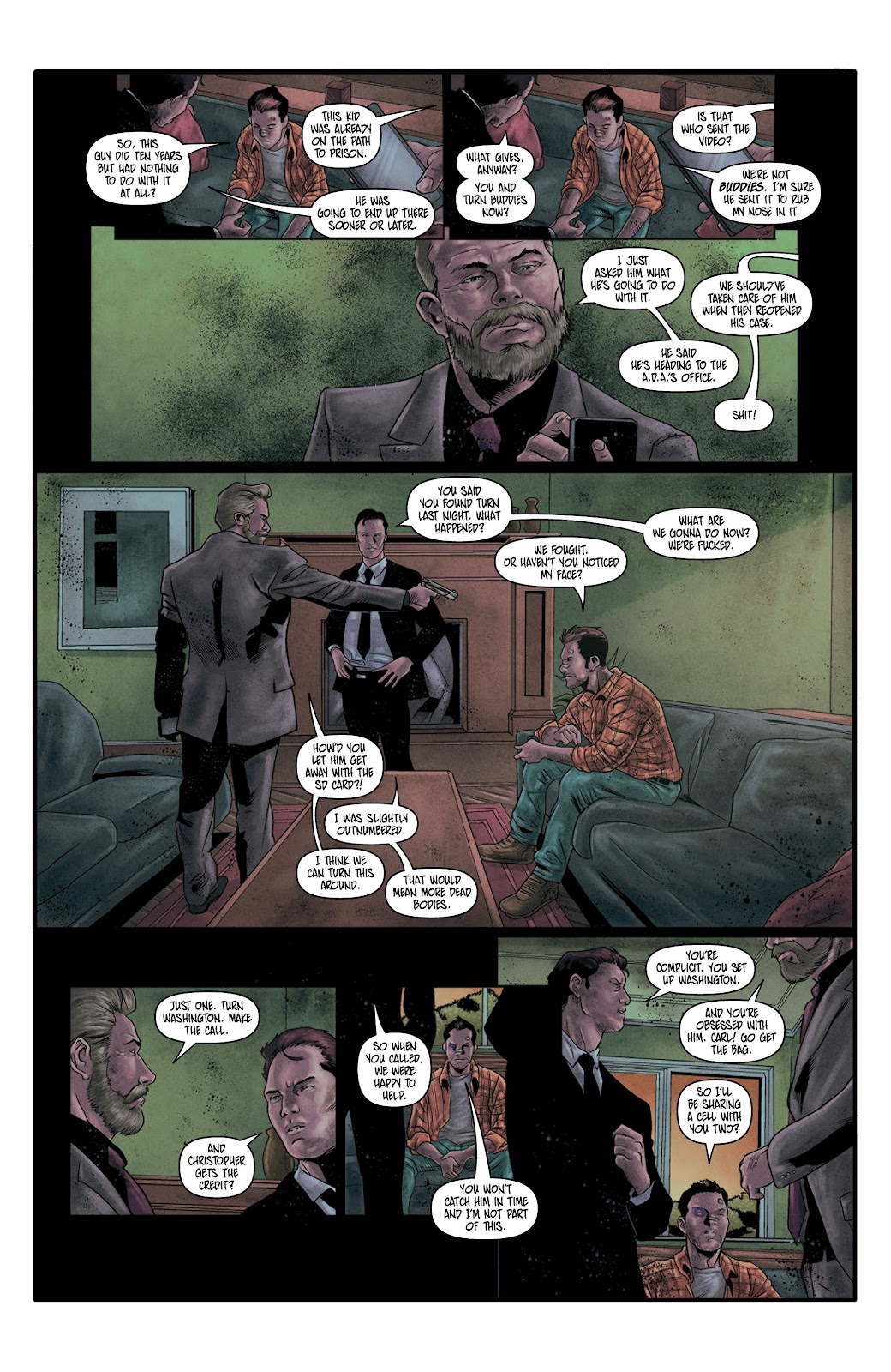 Read online Vindication comic -  Issue #4 - 15