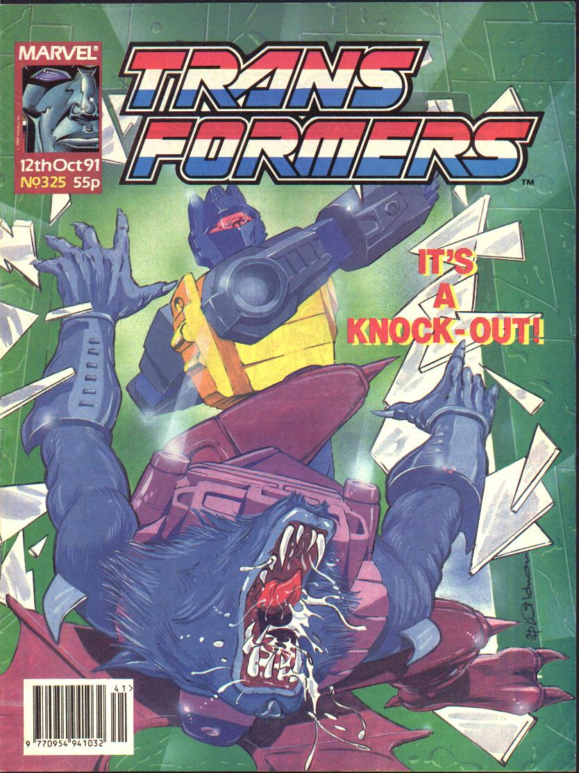 The Transformers (UK) 325 Page 1