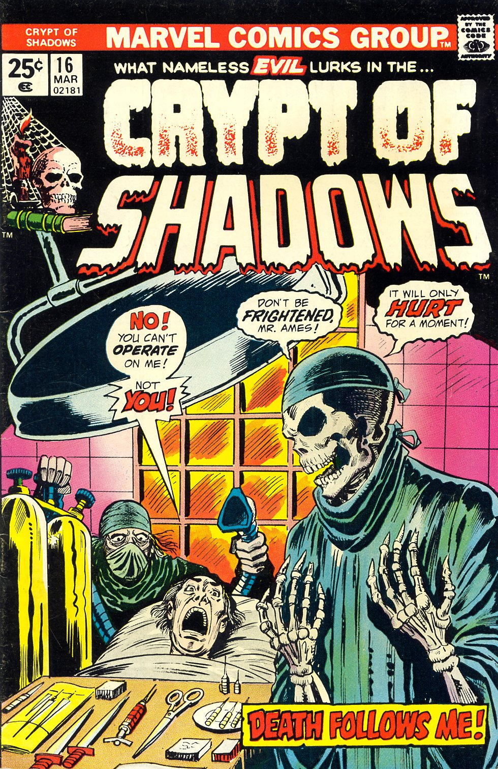 Crypt of Shadows (1973) issue 16 - Page 1