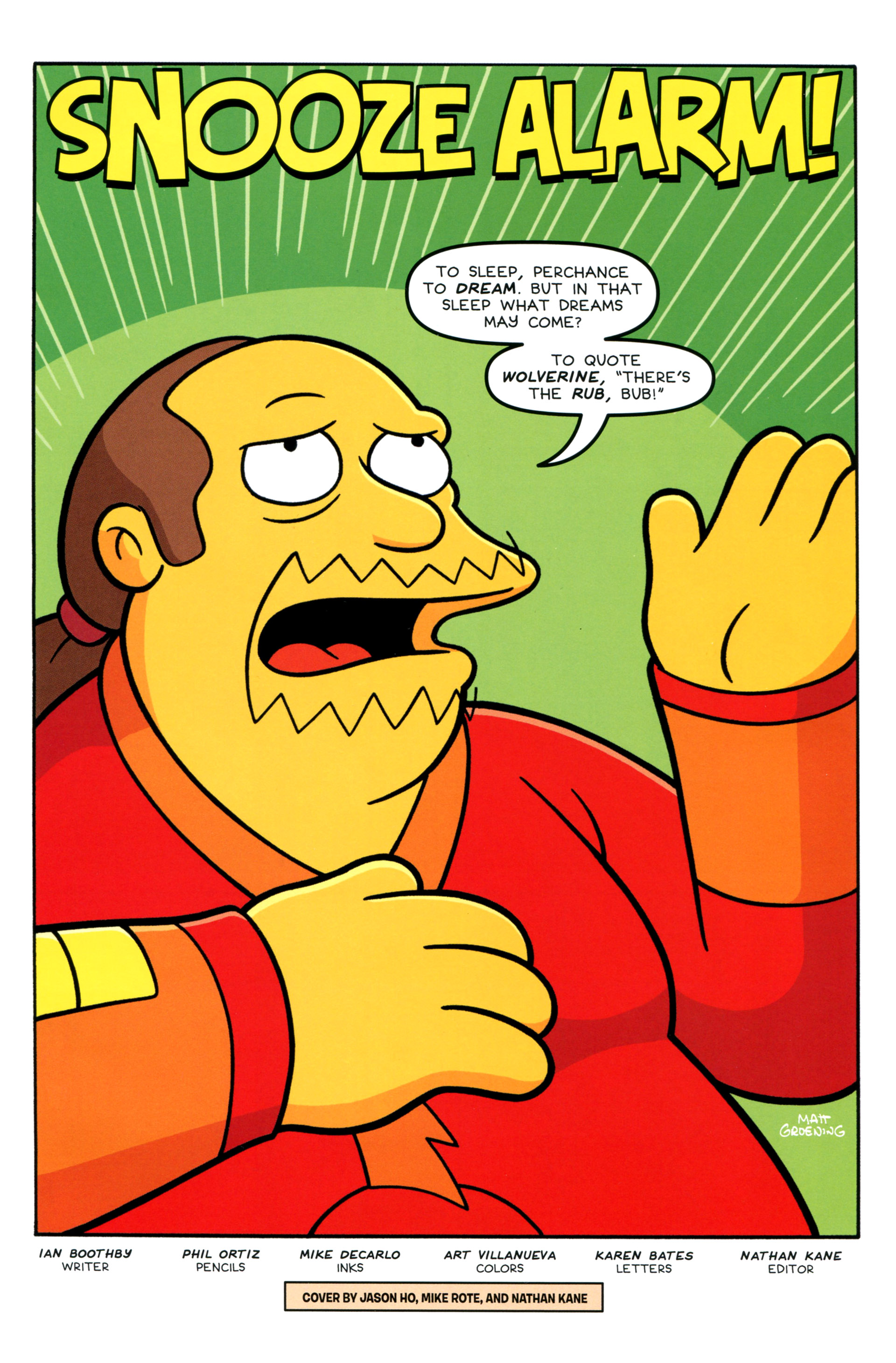 Read online Simpsons Comics comic -  Issue #207 - 3