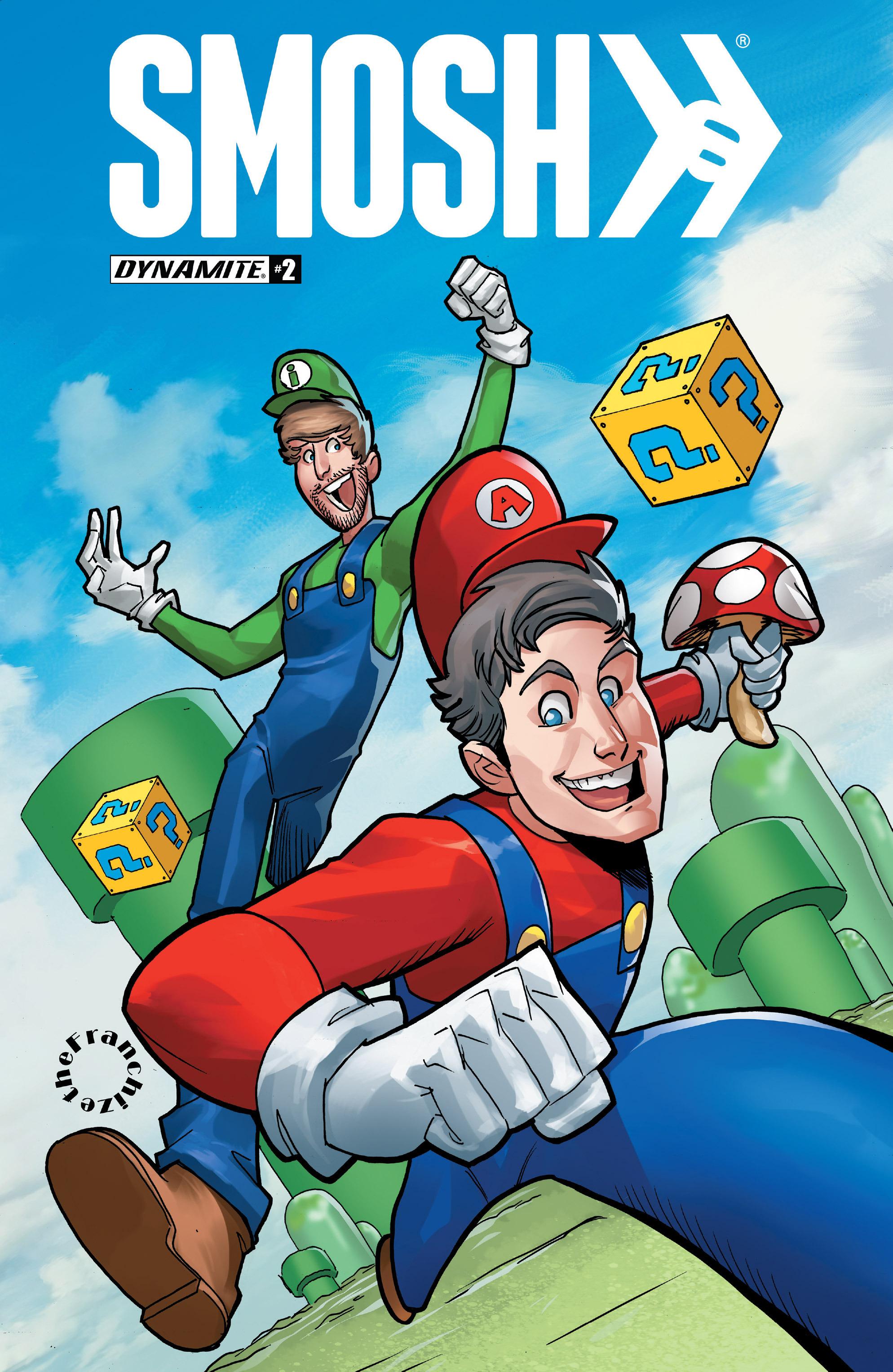 Read online Smosh comic -  Issue #2 - 2