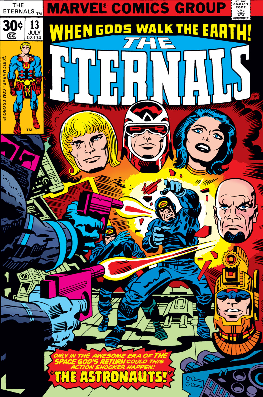 The Eternals issue 13 - Page 1