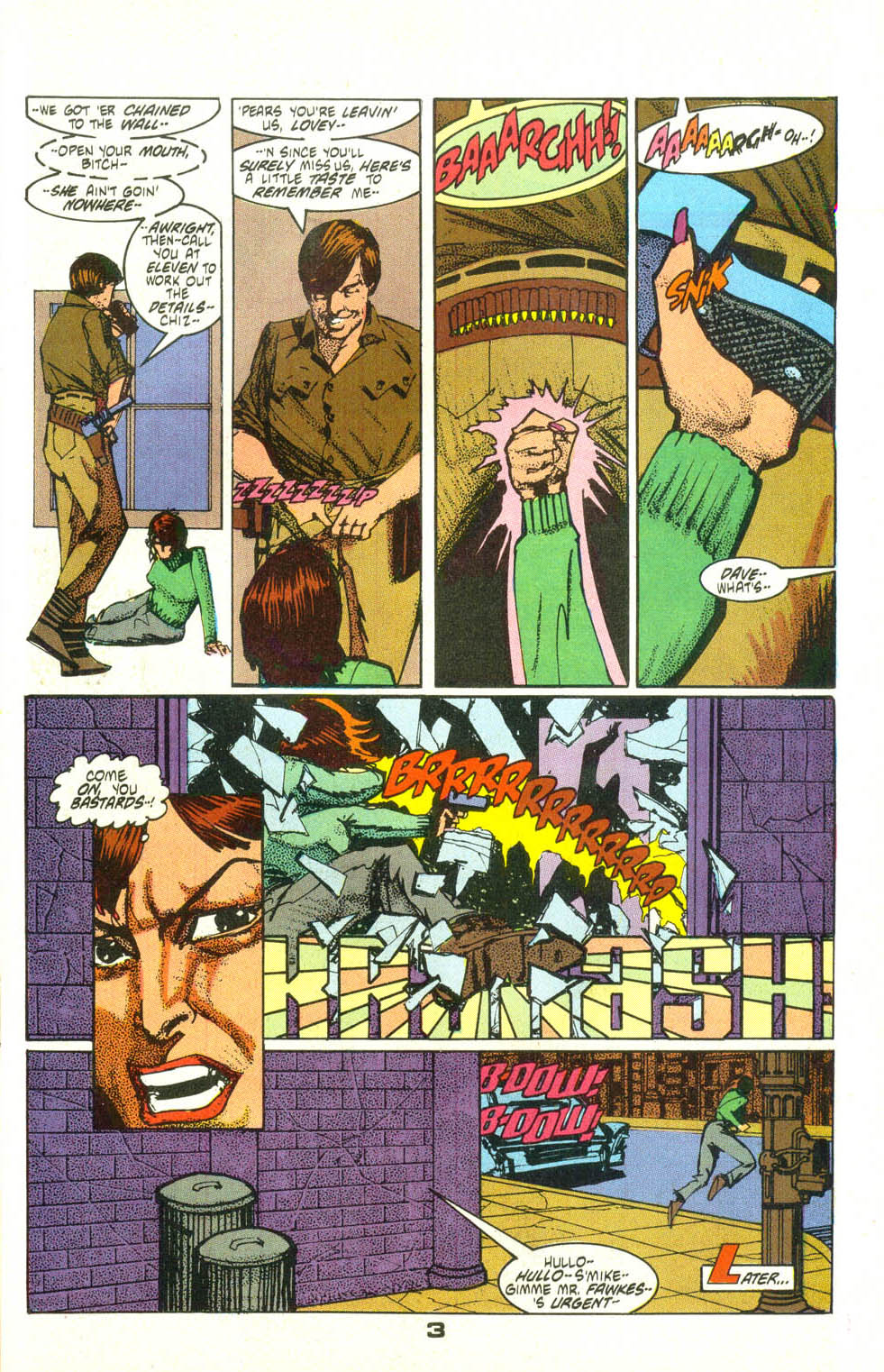 Read online American Flagg! comic -  Issue #25 - 4