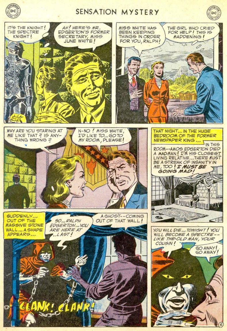 Read online Sensation (Mystery) Comics comic -  Issue #113 - 30