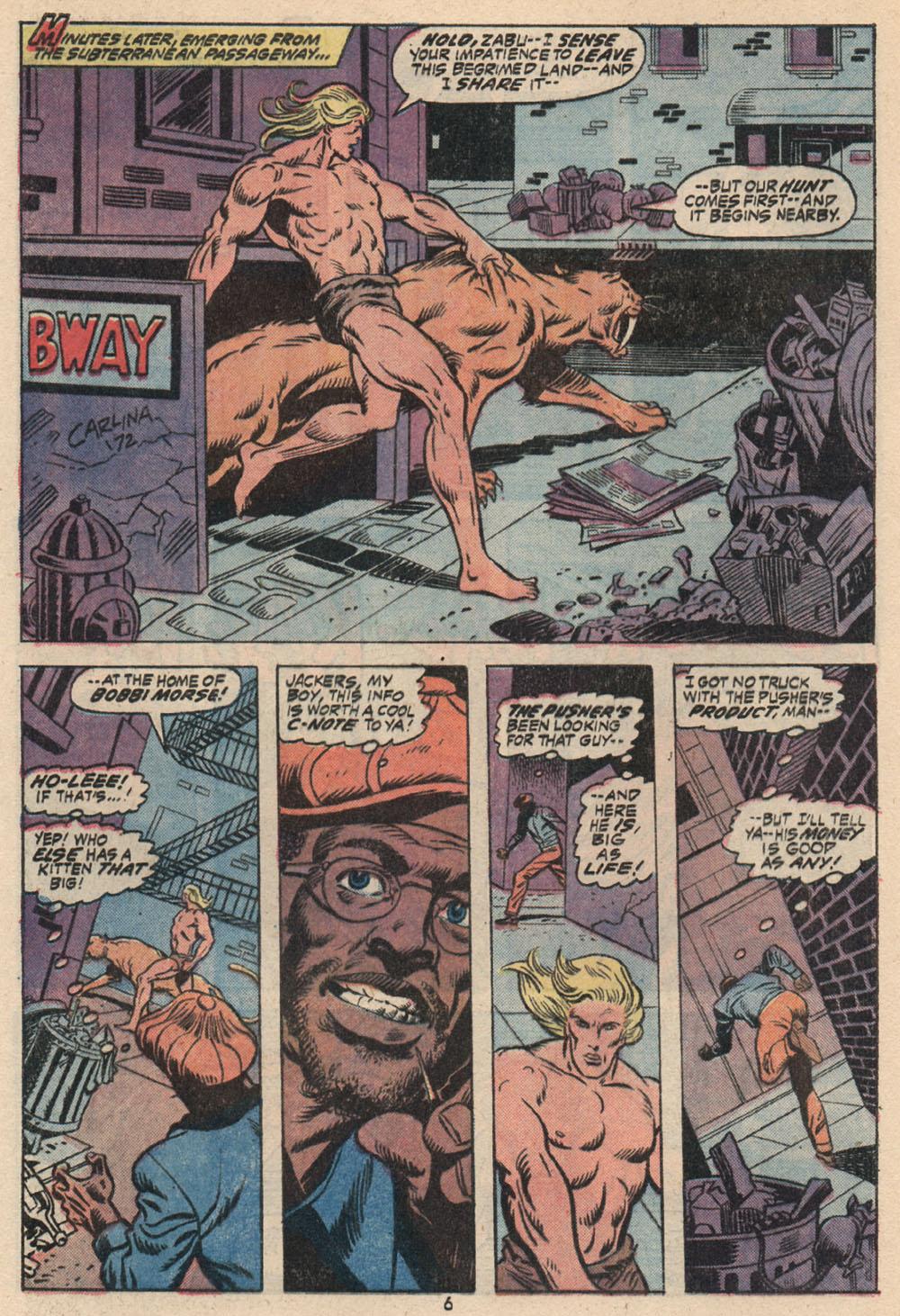 Read online Astonishing Tales (1970) comic -  Issue #16 - 6
