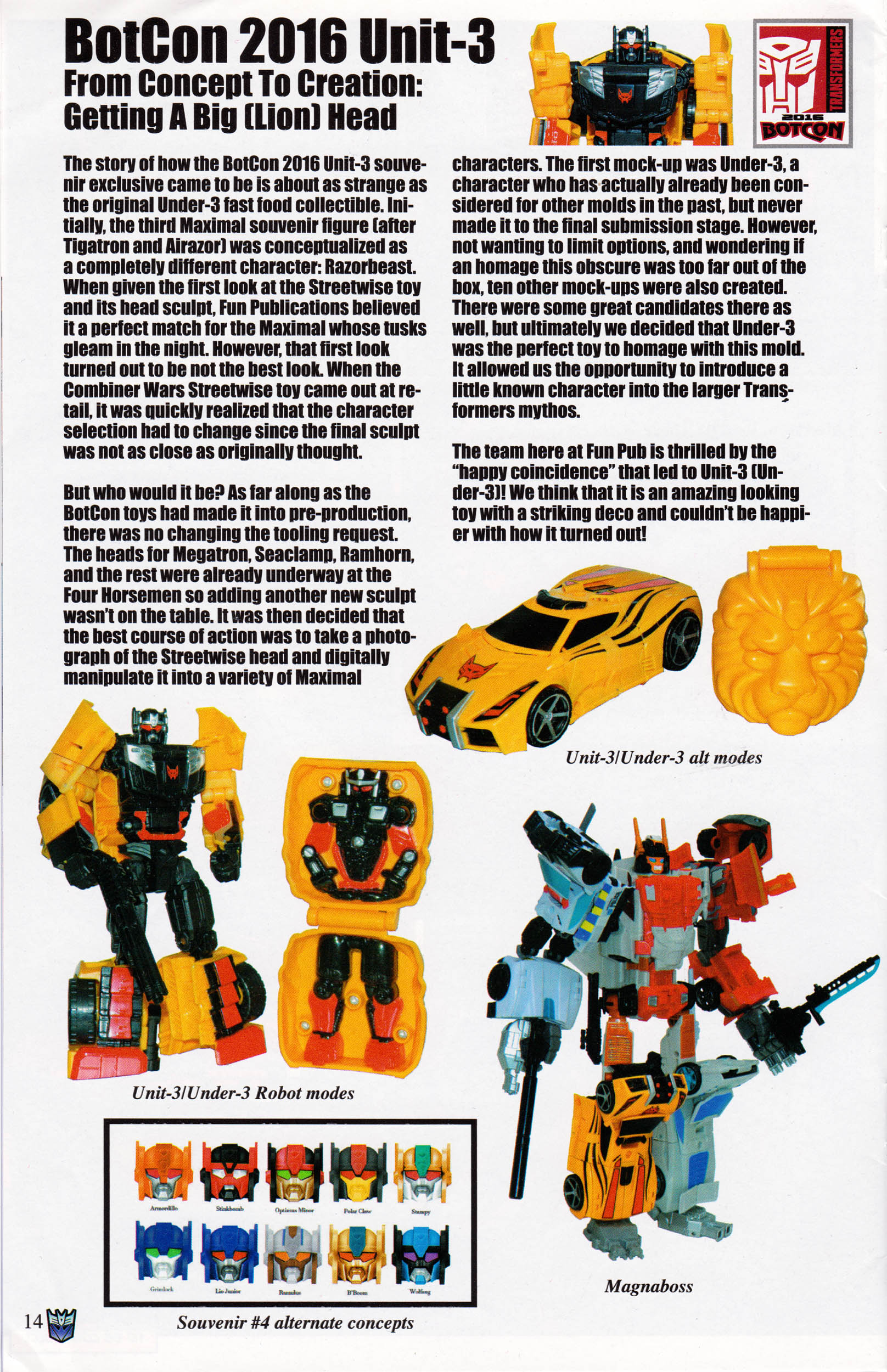 Read online Transformers: Collectors' Club comic -  Issue #69 - 14