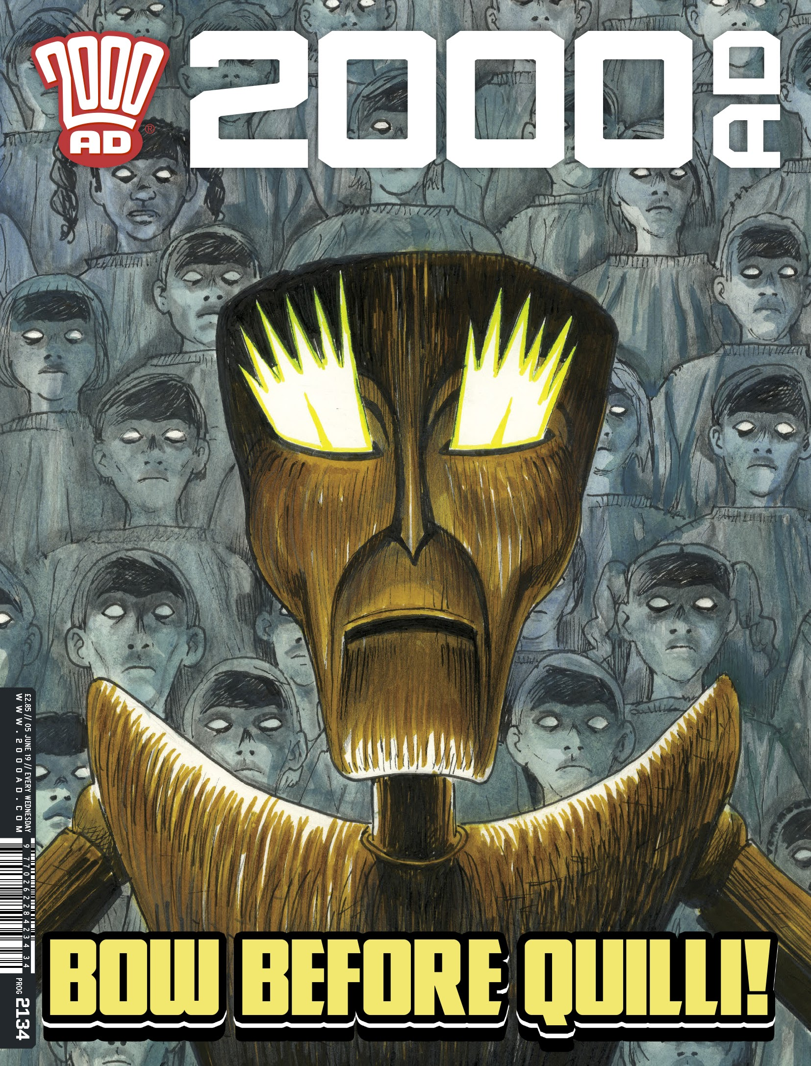 2000 AD 2134 Page 1