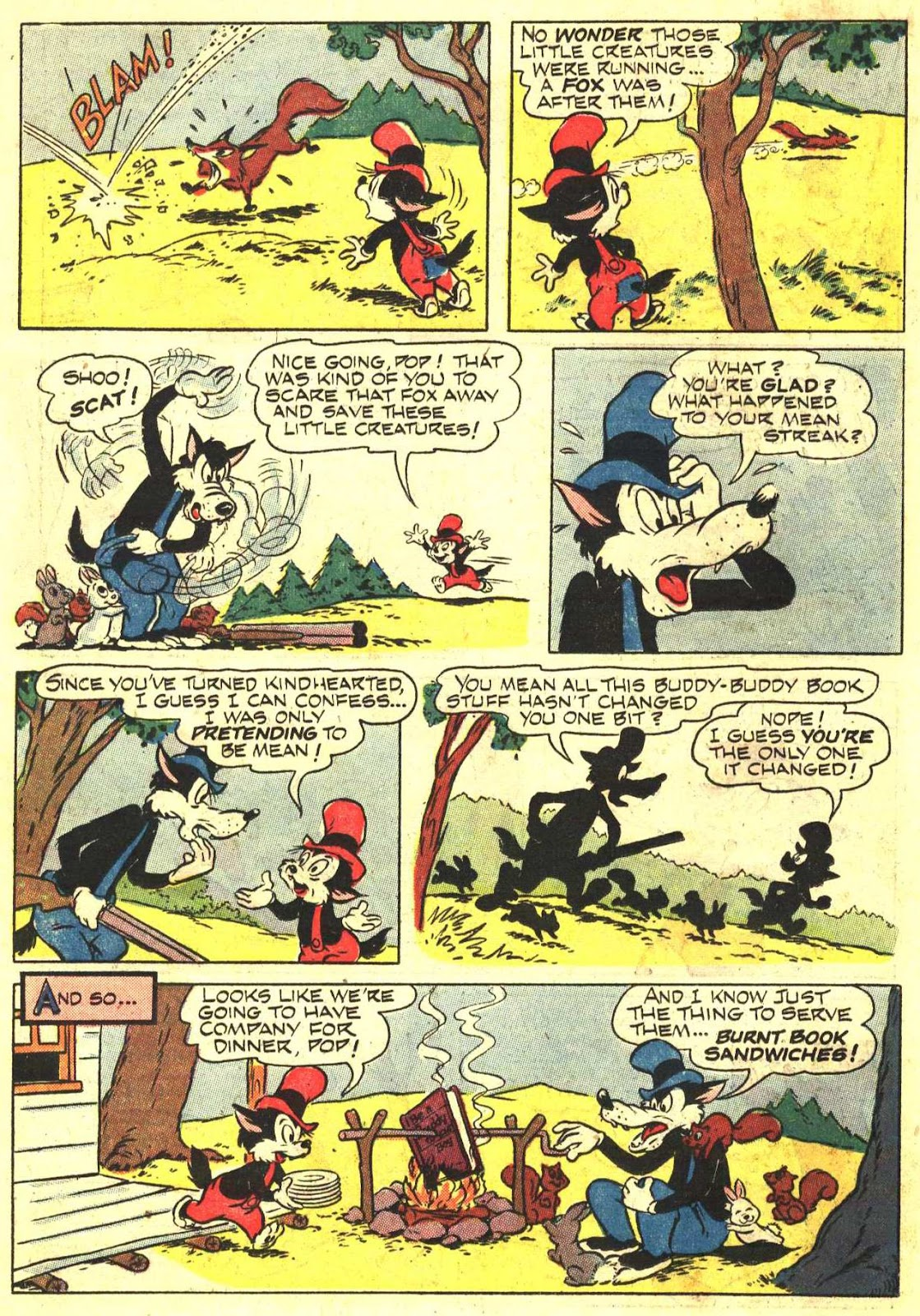 Walt Disney's Comics and Stories issue 193 - Page 18