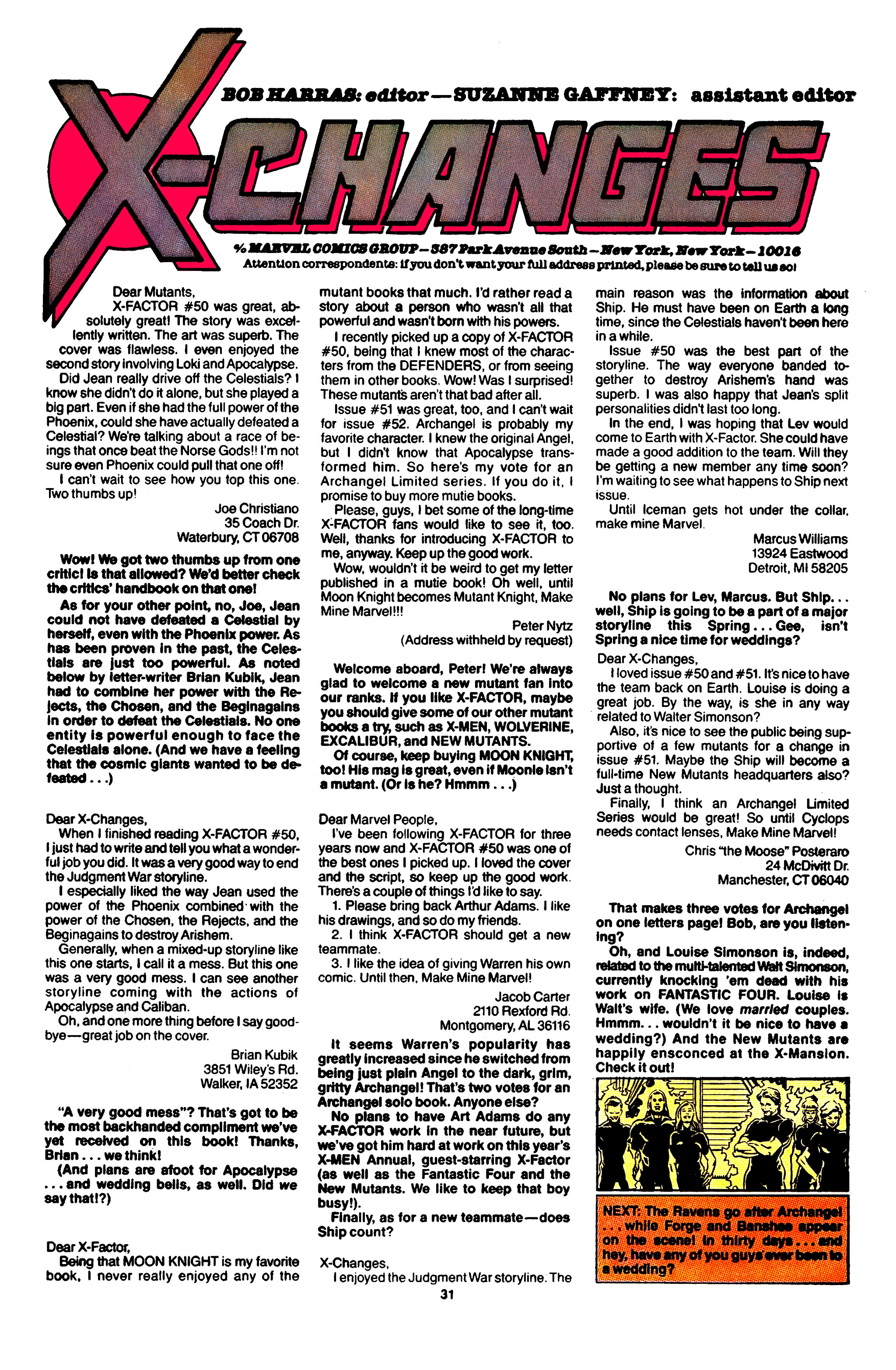 Read online X-Factor (1986) comic -  Issue #56 - 25