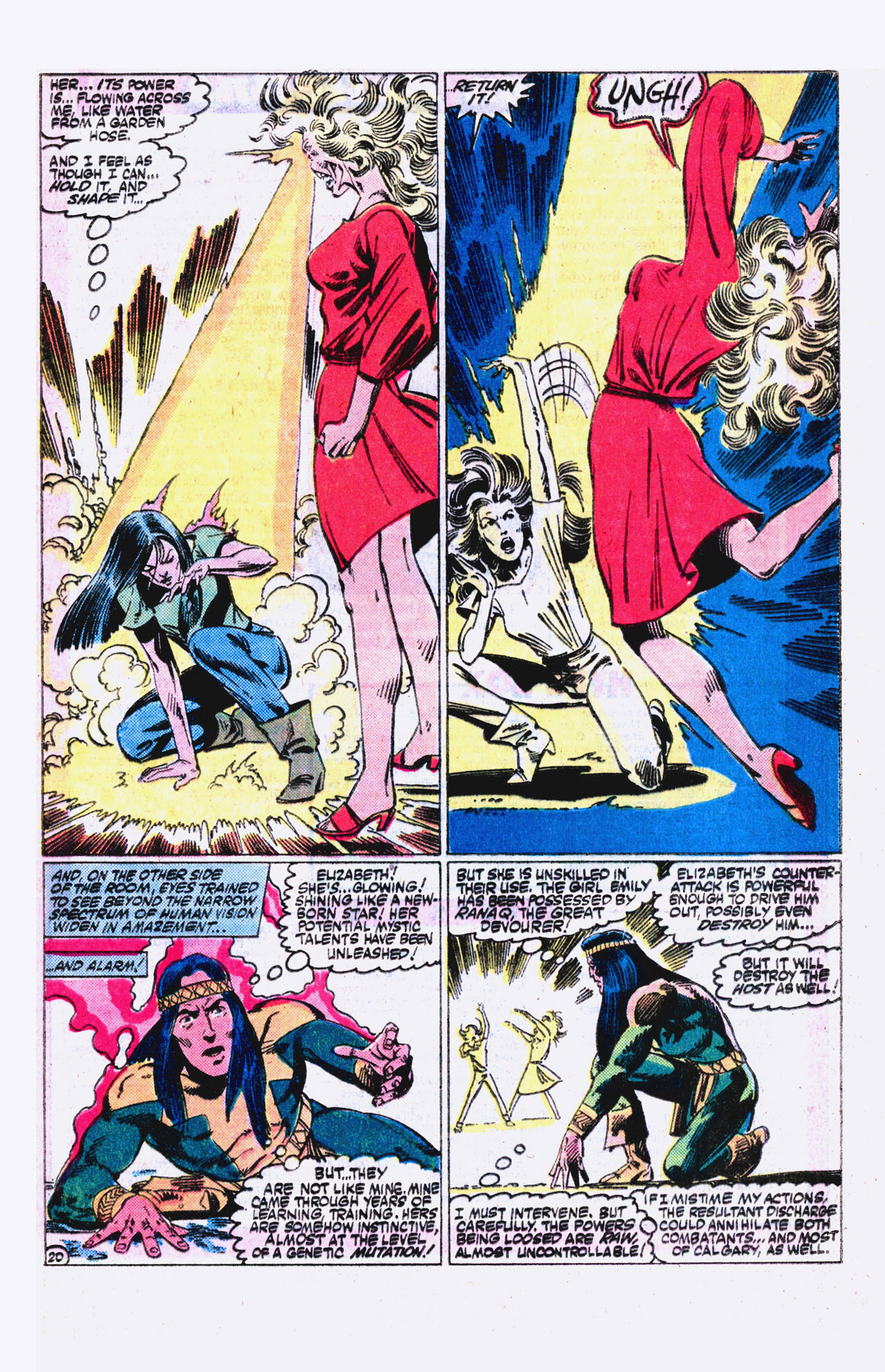 Read online Alpha Flight (1983) comic -  Issue #18 - 21