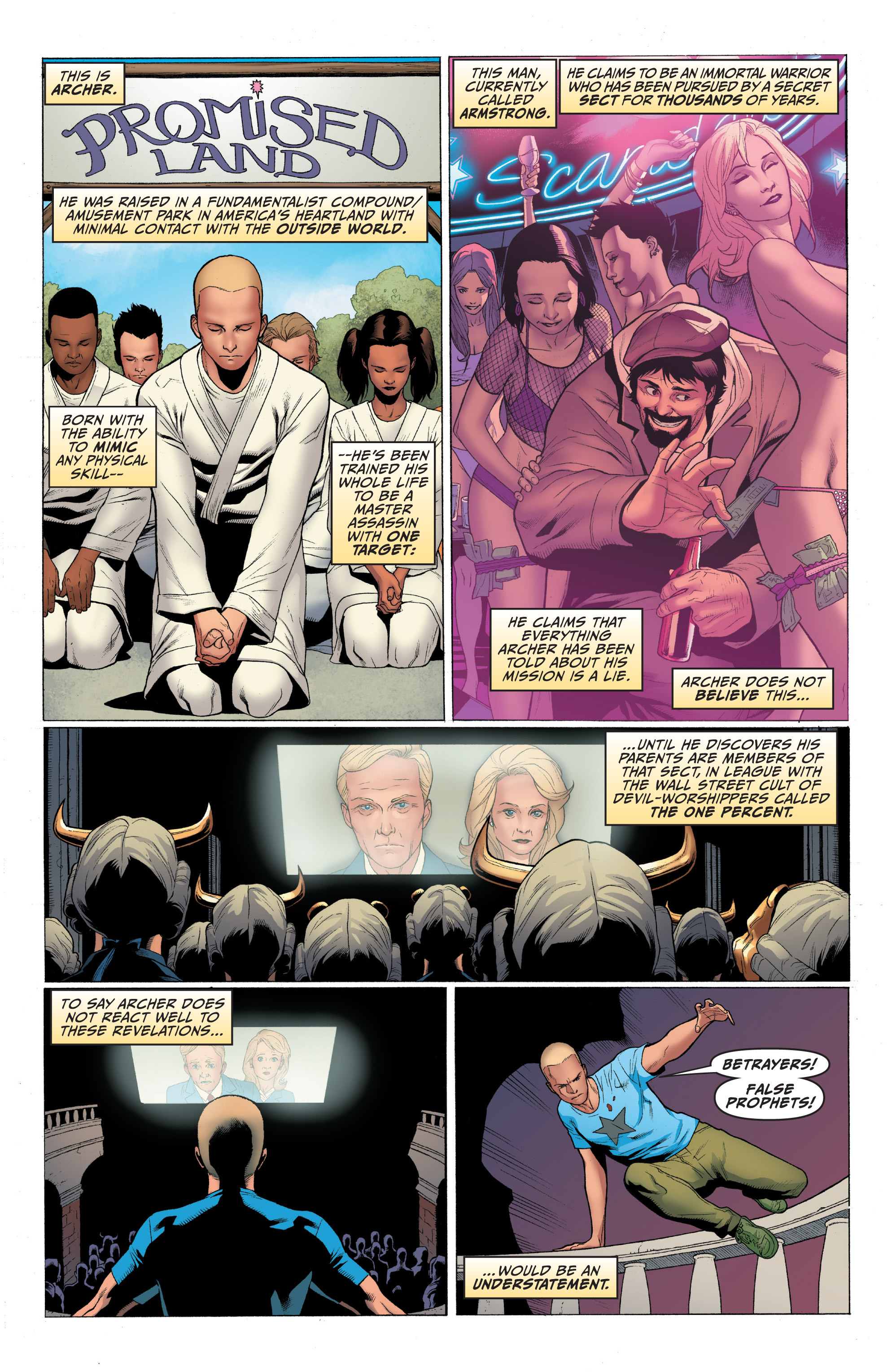 Read online Archer and Armstrong comic -  Issue #Archer and Armstrong _TPB 1 - 31