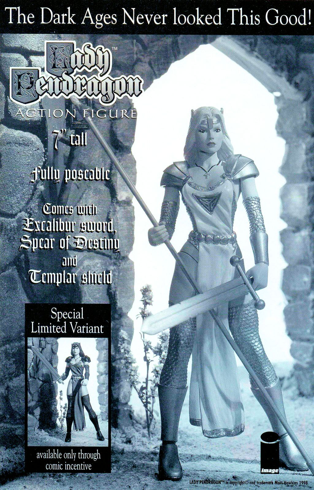 Read online Lady Pendragon / More Than Mortal comic -  Issue # _Preview - 19