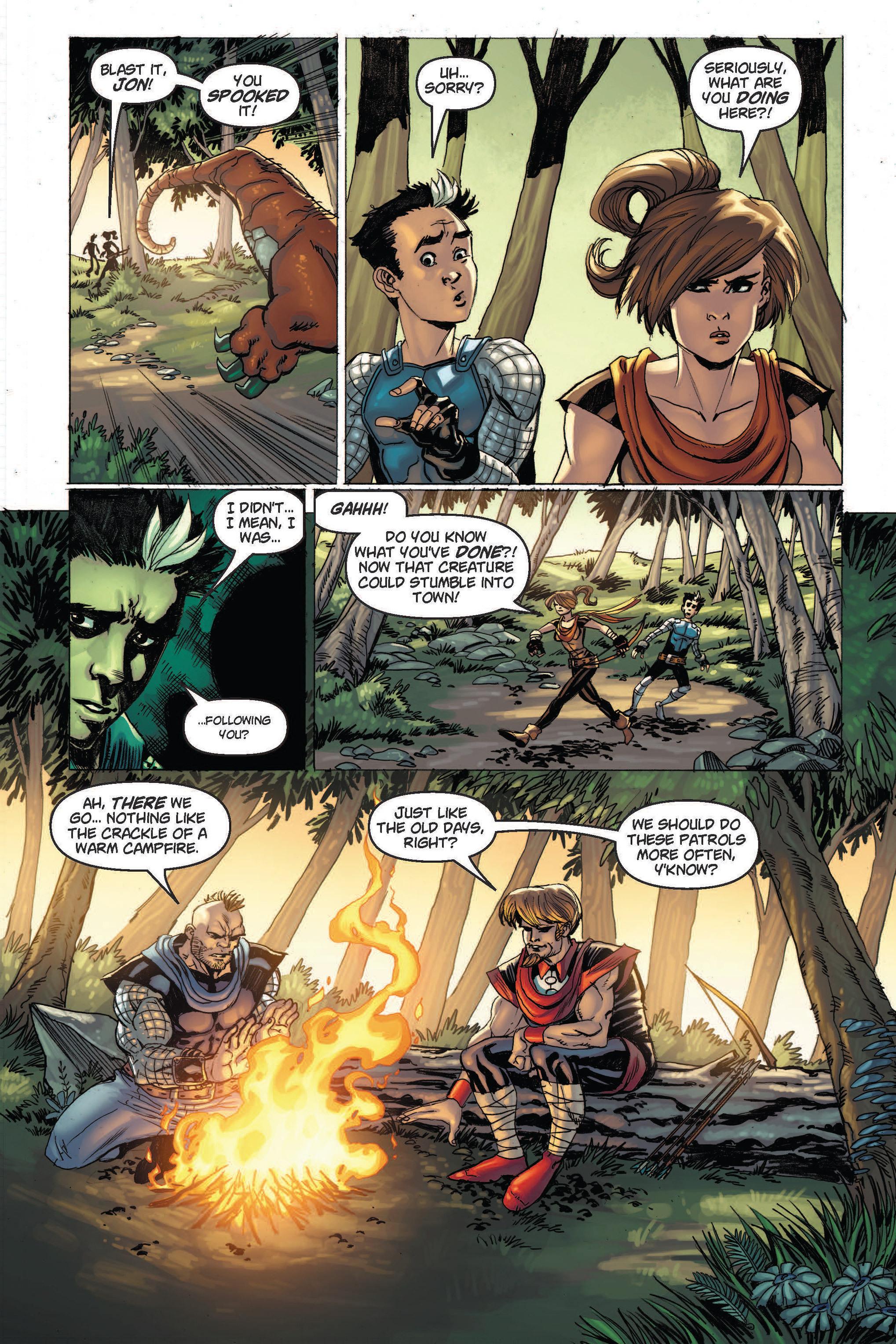 Read online Skyward comic -  Issue #2 - 5