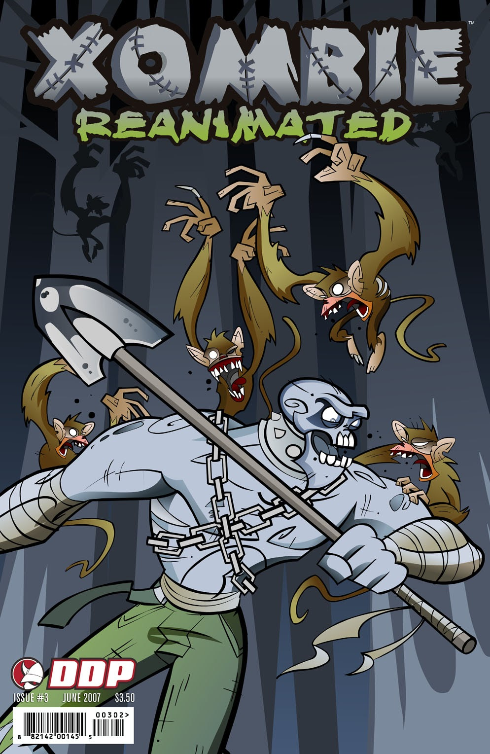 Read online Xombie Reanimated comic -  Issue #3 - 2