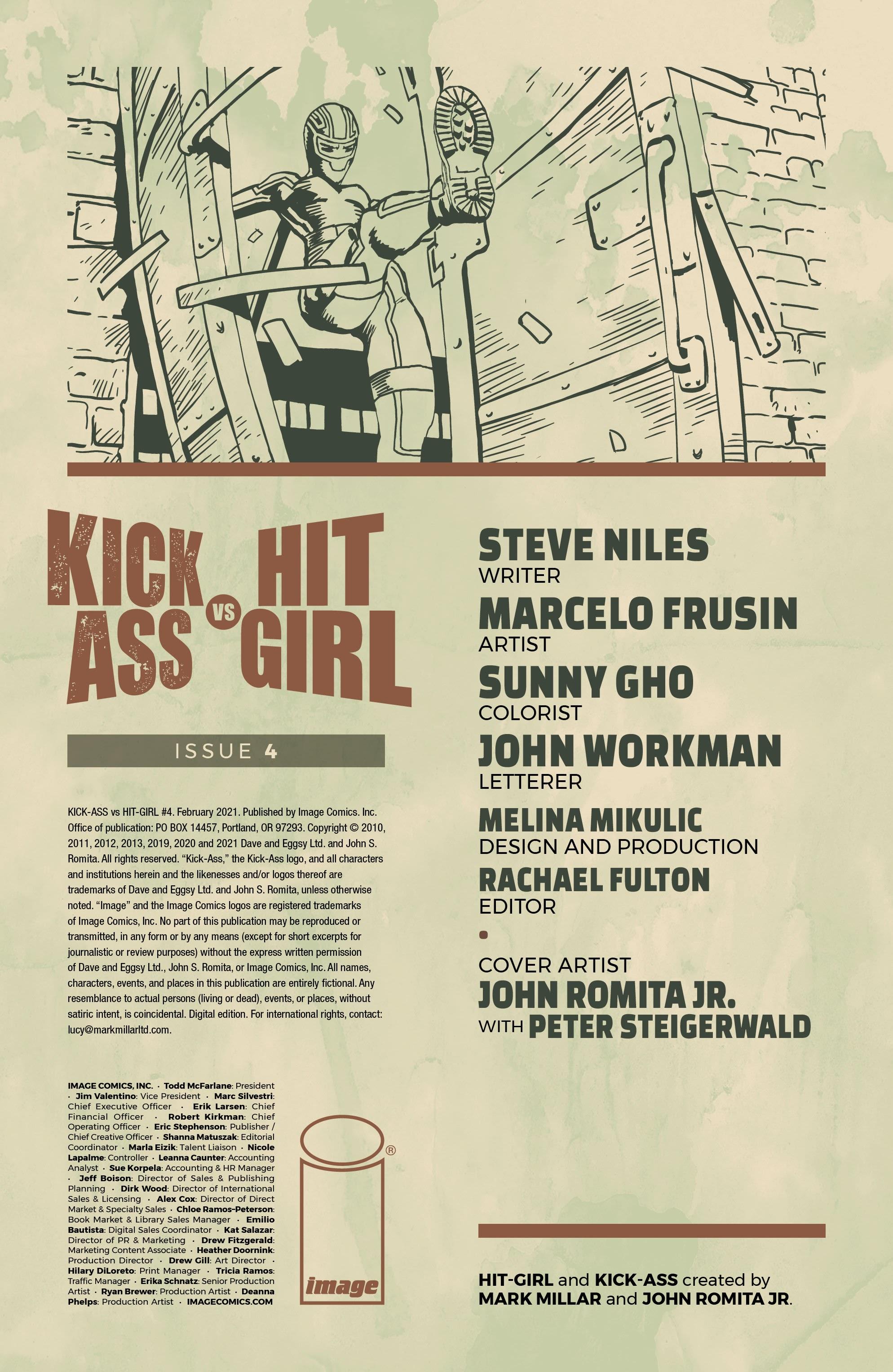 Kick-Ass Vs. Hit-Girl 4 Page 2