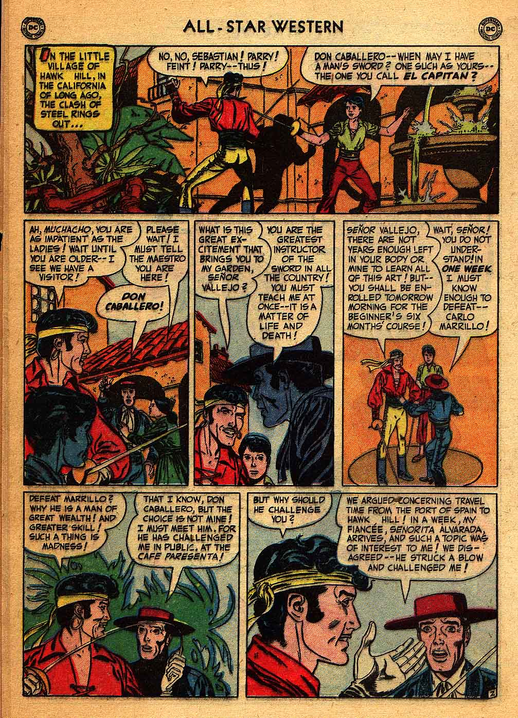 Read online All-Star Western (1951) comic -  Issue #58 - 16