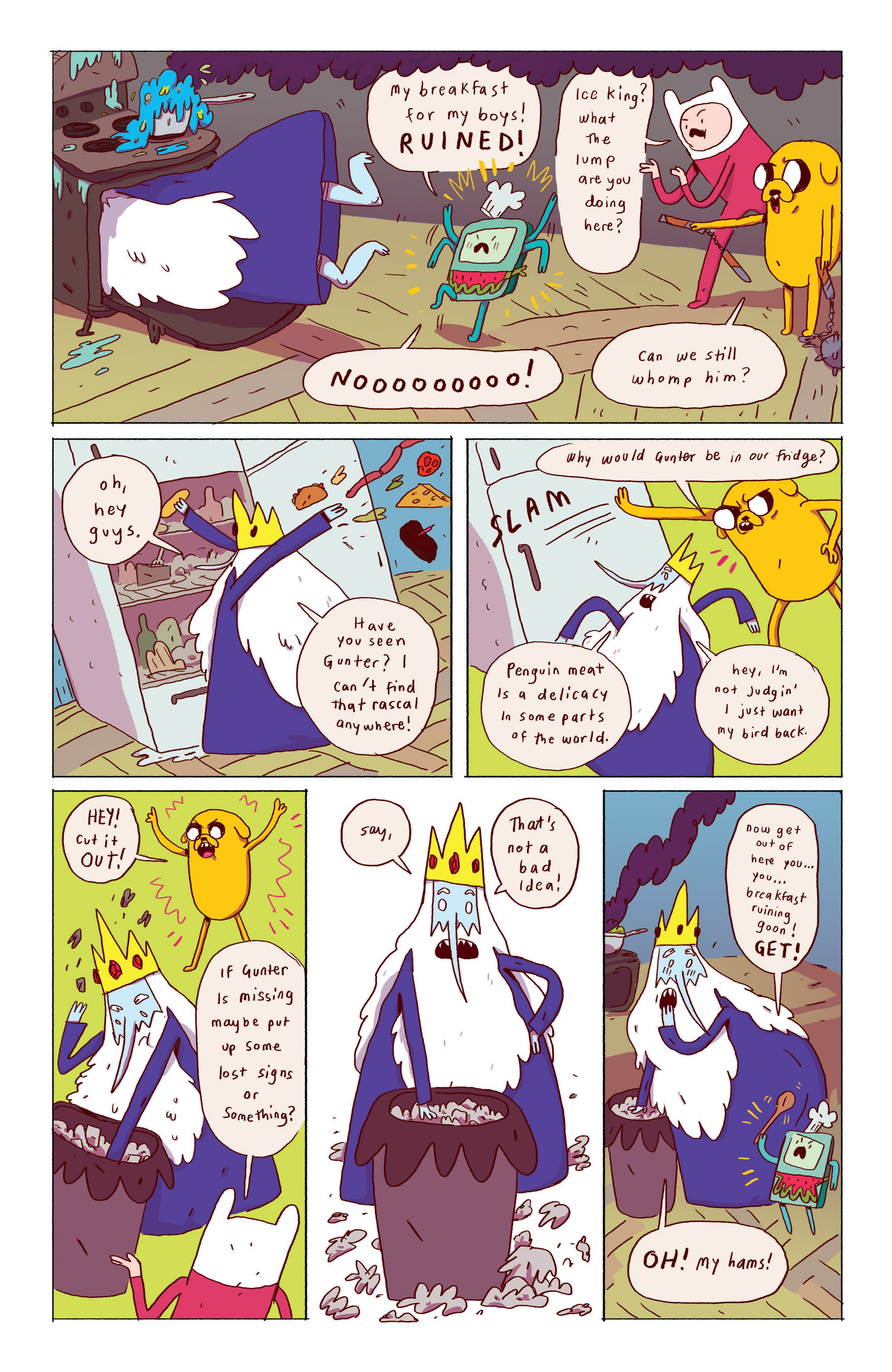 Read online Adventure Time: Ice King comic -  Issue #1 - 10