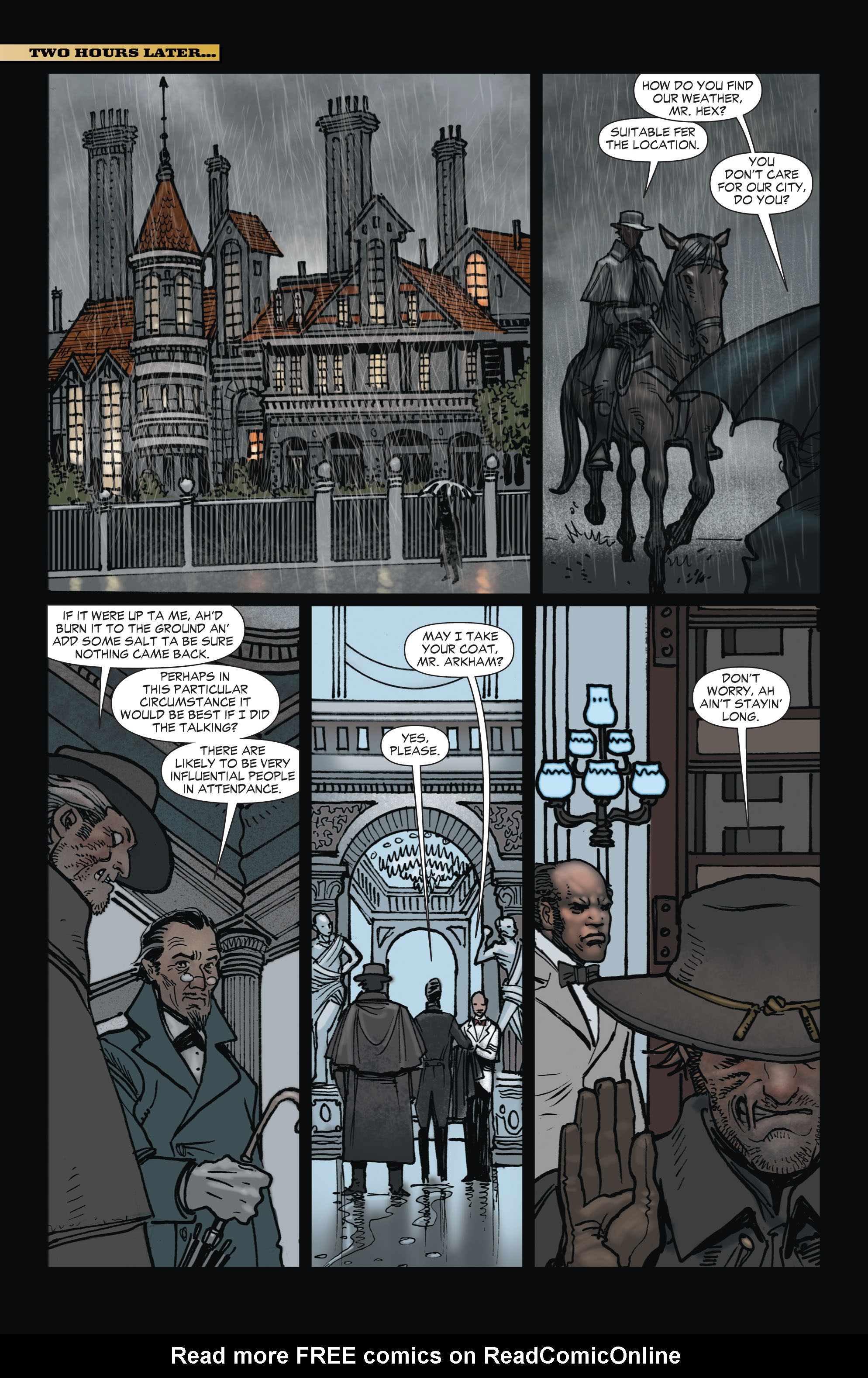 Read online All-Star Western (2011) comic -  Issue #1 - 26