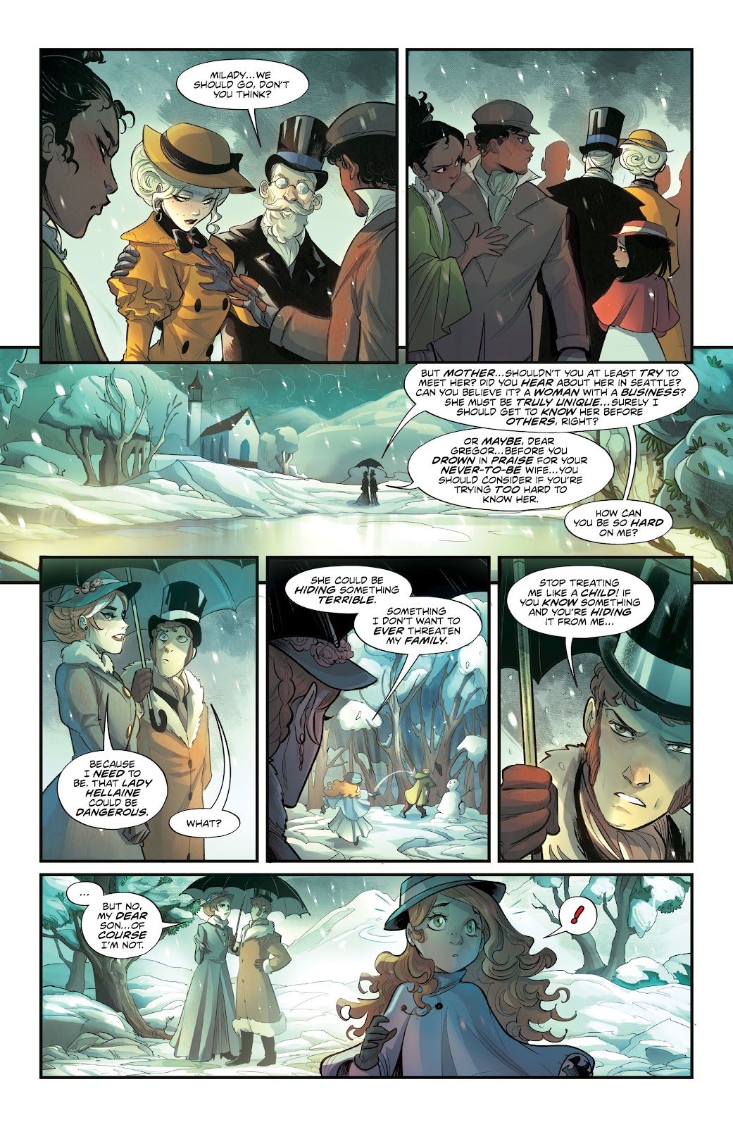 Read online Mirka Andolfo's Mercy comic -  Issue #3 - 17