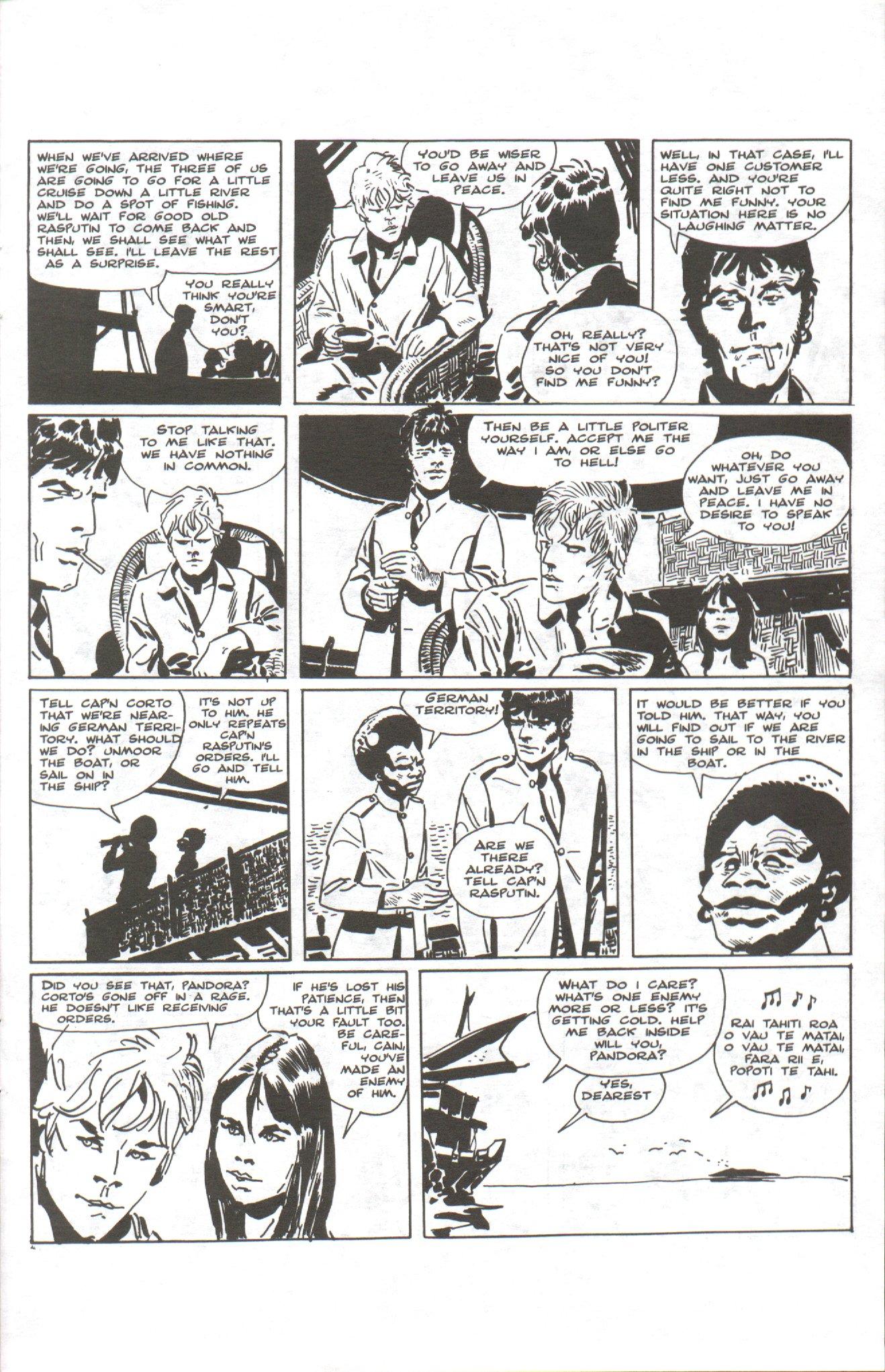 Read online Corto Maltese: Ballad of the Salt Sea comic -  Issue #1 - 19