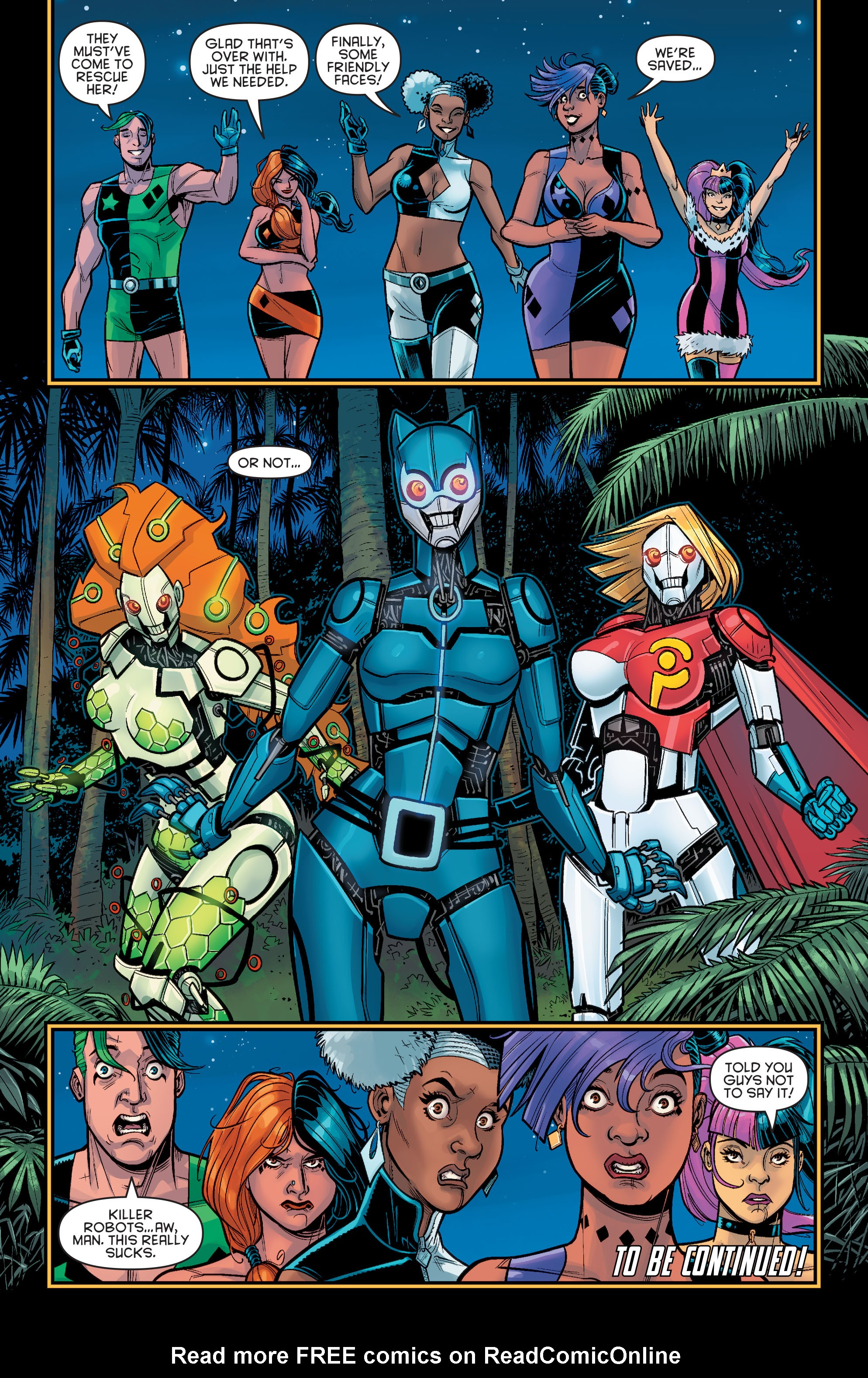 Harley Quinn And Her Gang Of Harleys Issue 4   Read Harley
