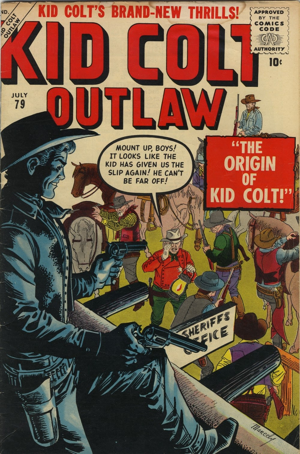 Kid Colt Outlaw issue 79 - Page 1