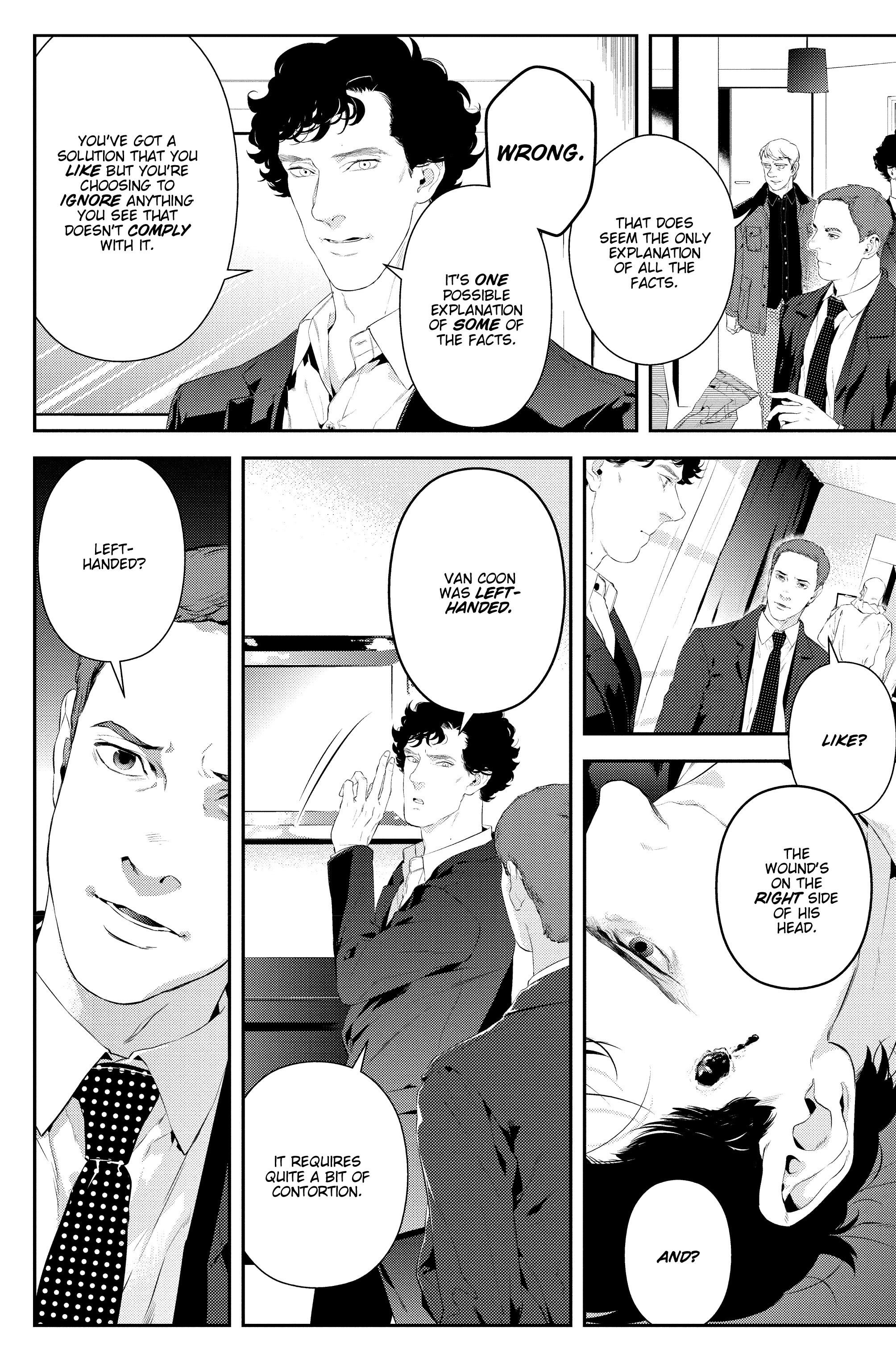Read online Sherlock: The Blind Banker comic -  Issue #2 - 13
