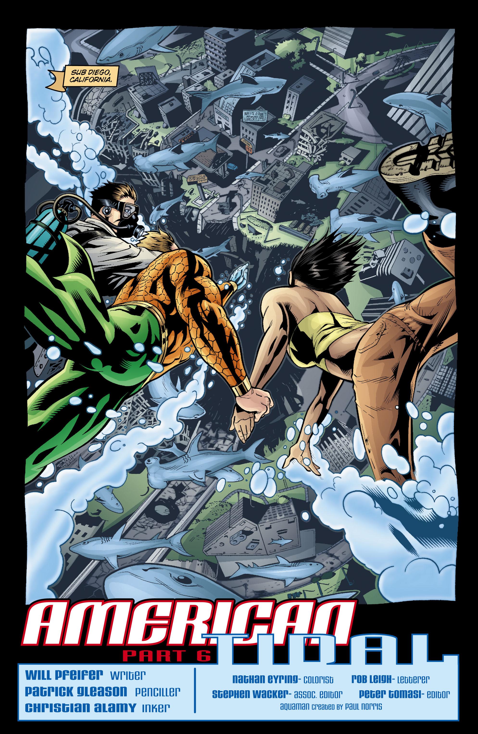 Read online Aquaman (2003) comic -  Issue #20 - 3