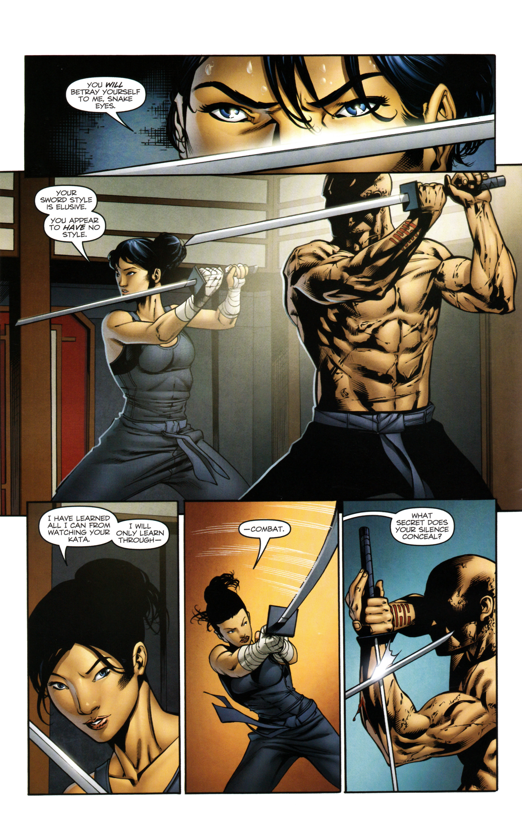Read online Snake Eyes and Storm Shadow comic -  Issue #14 - 7