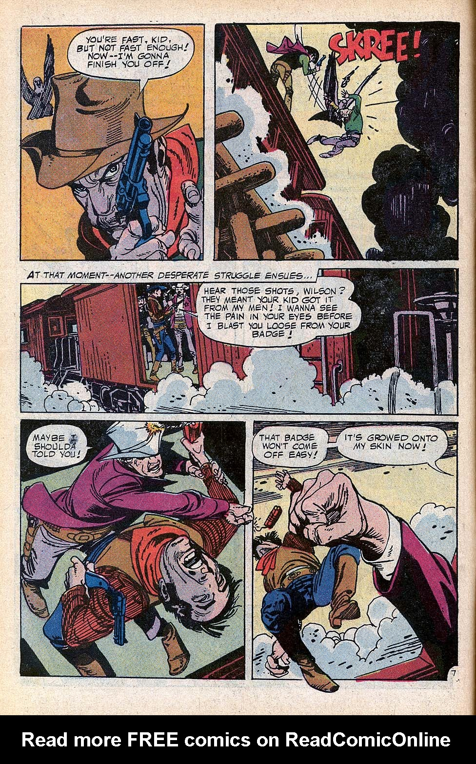 Read online All-Star Western (1970) comic -  Issue #3 - 8