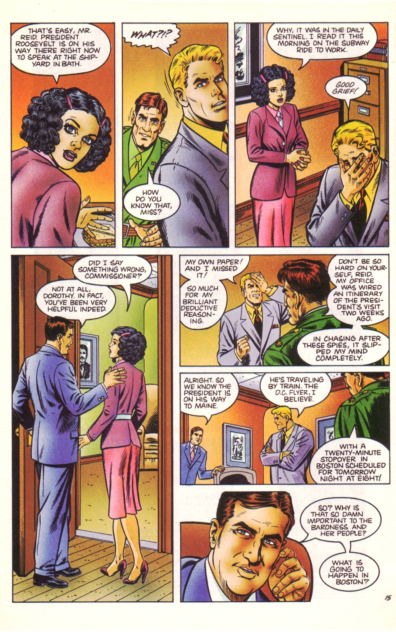 Read online Sting of The Green Hornet comic -  Issue #3 - 16