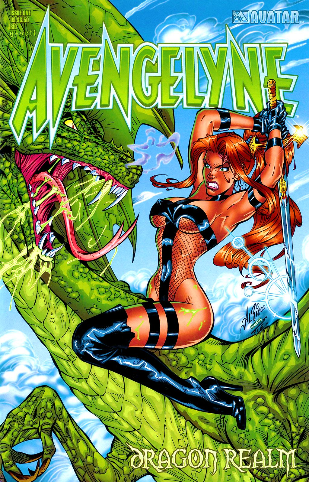 Read online Avengelyne: Dragon Realm comic -  Issue #1 - 1