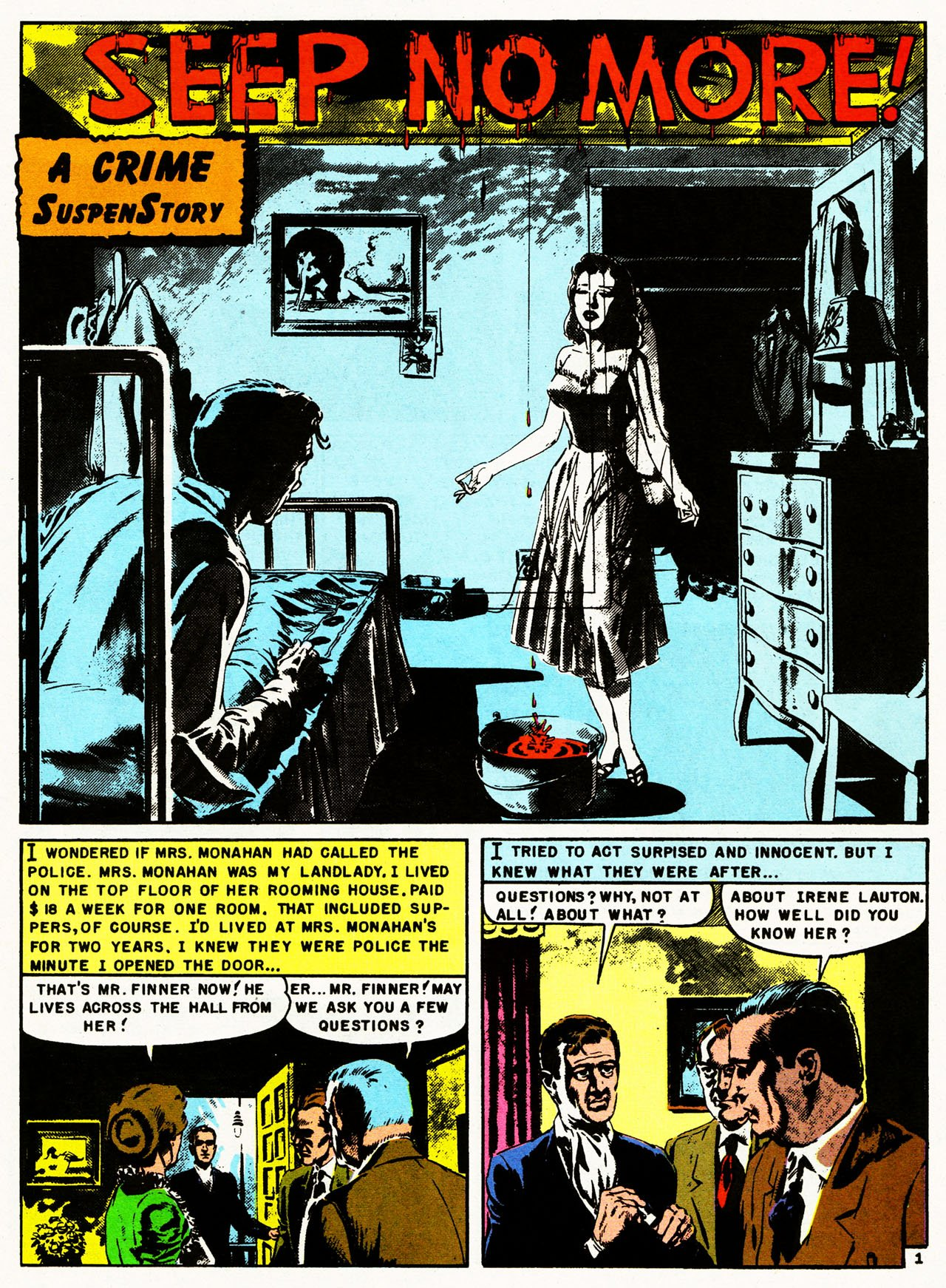 Read online Shock SuspenStories comic -  Issue #8 - 27