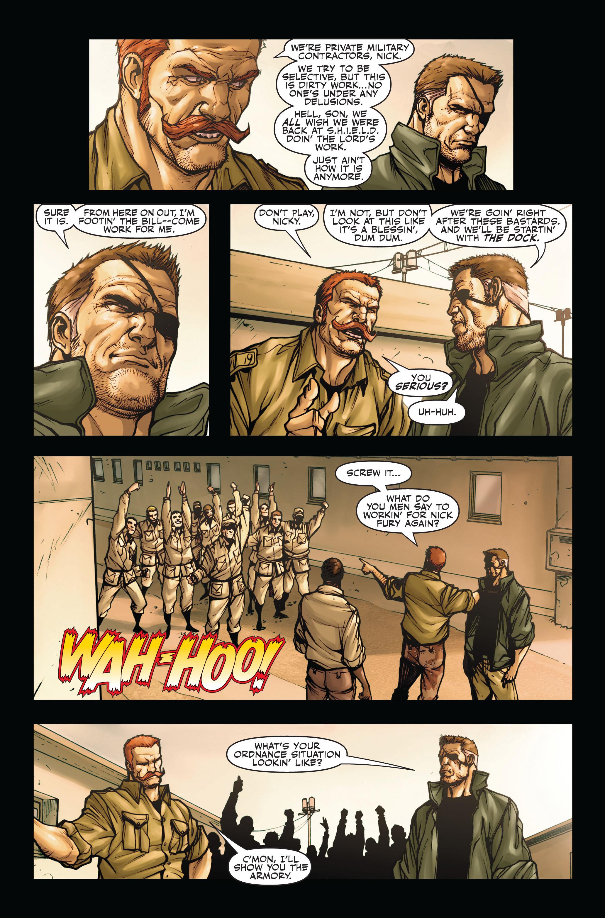 Read online Secret Warriors comic -  Issue #4 - 23