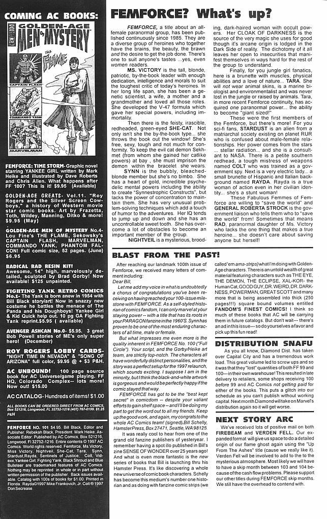 Femforce Issue #101 #101 - English 2