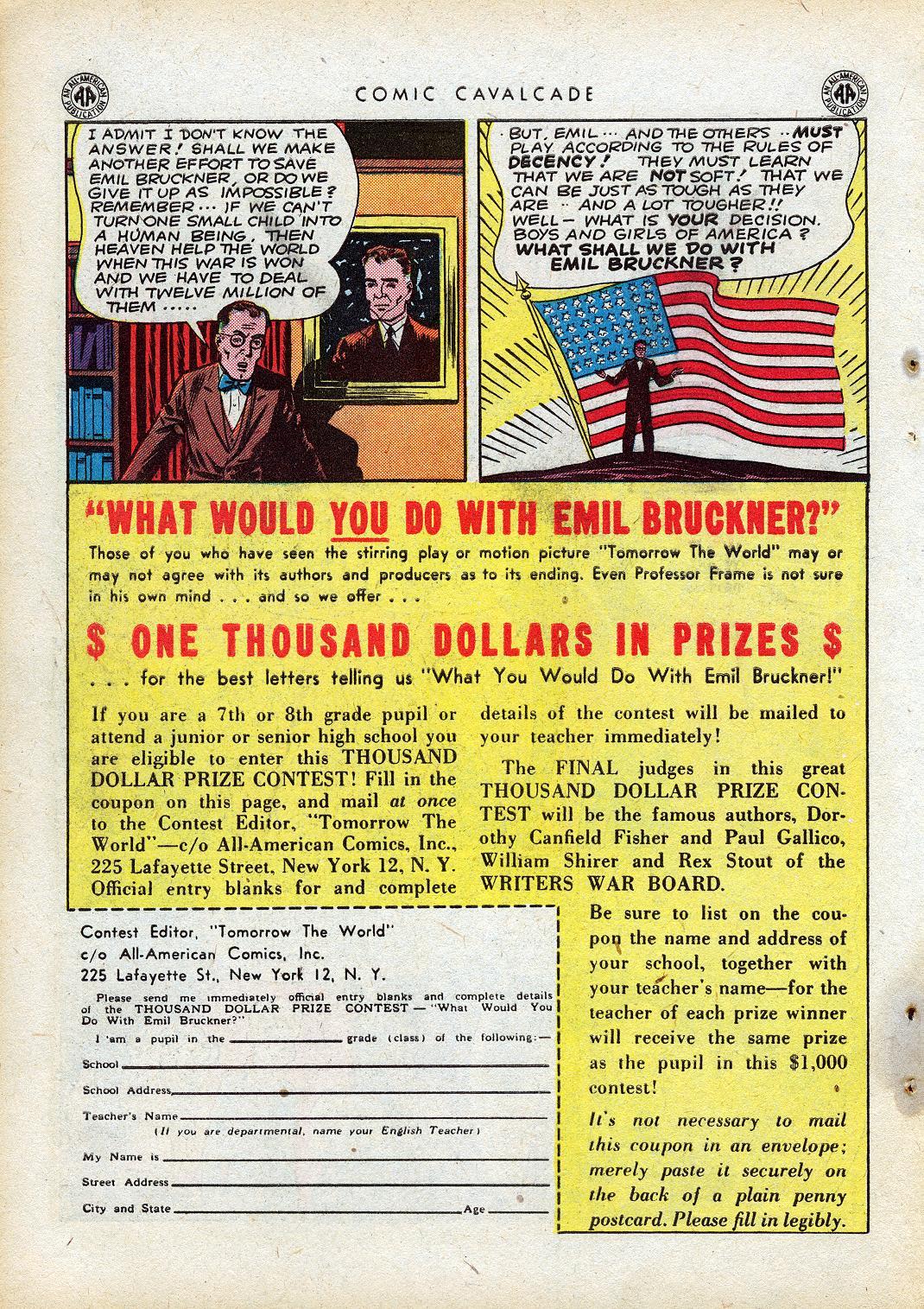 Comic Cavalcade issue 10 - Page 36