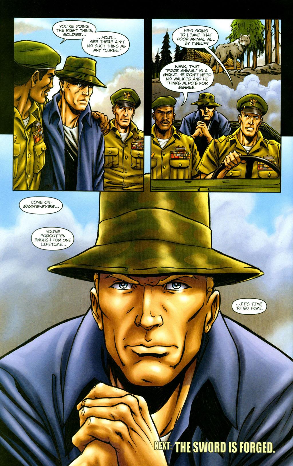 Read online Snake Eyes: Declassified comic -  Issue #5 - 24
